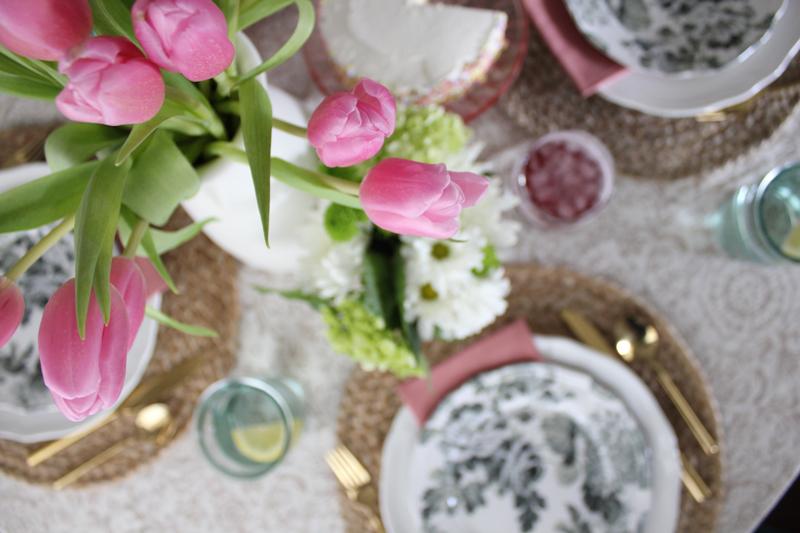 Garden Tablescape | Slate Design Studio