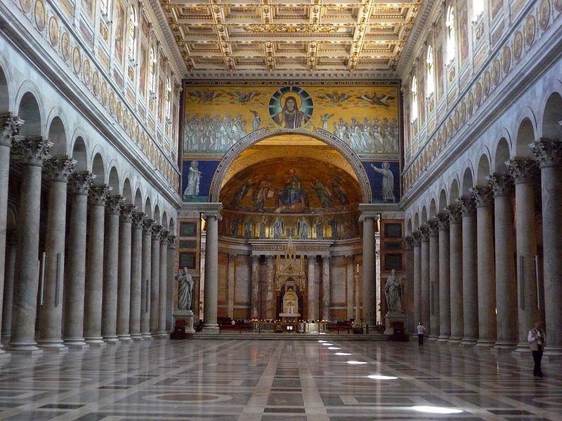 San Paolo Fuori Le Mura Roman Holiday Vespa Tour
