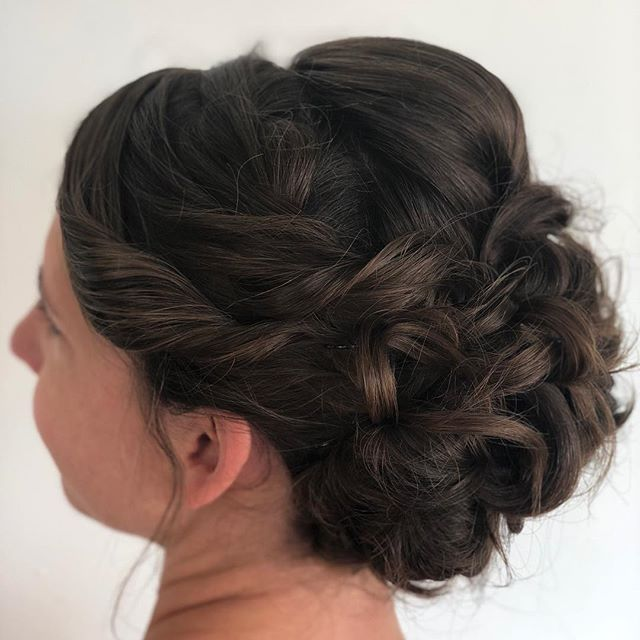 Beautiful bridesmaid #2, did  you know, here at Salon J Ladner we rent our entire space to bridal parties so they can have a relaxing pampering experience pre-wedding!