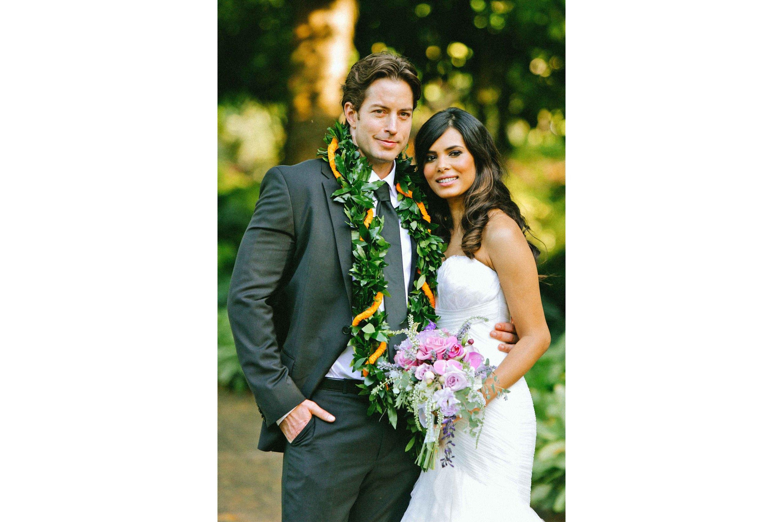 Oahu Wedding Photography Hawaiian Bride and Groom