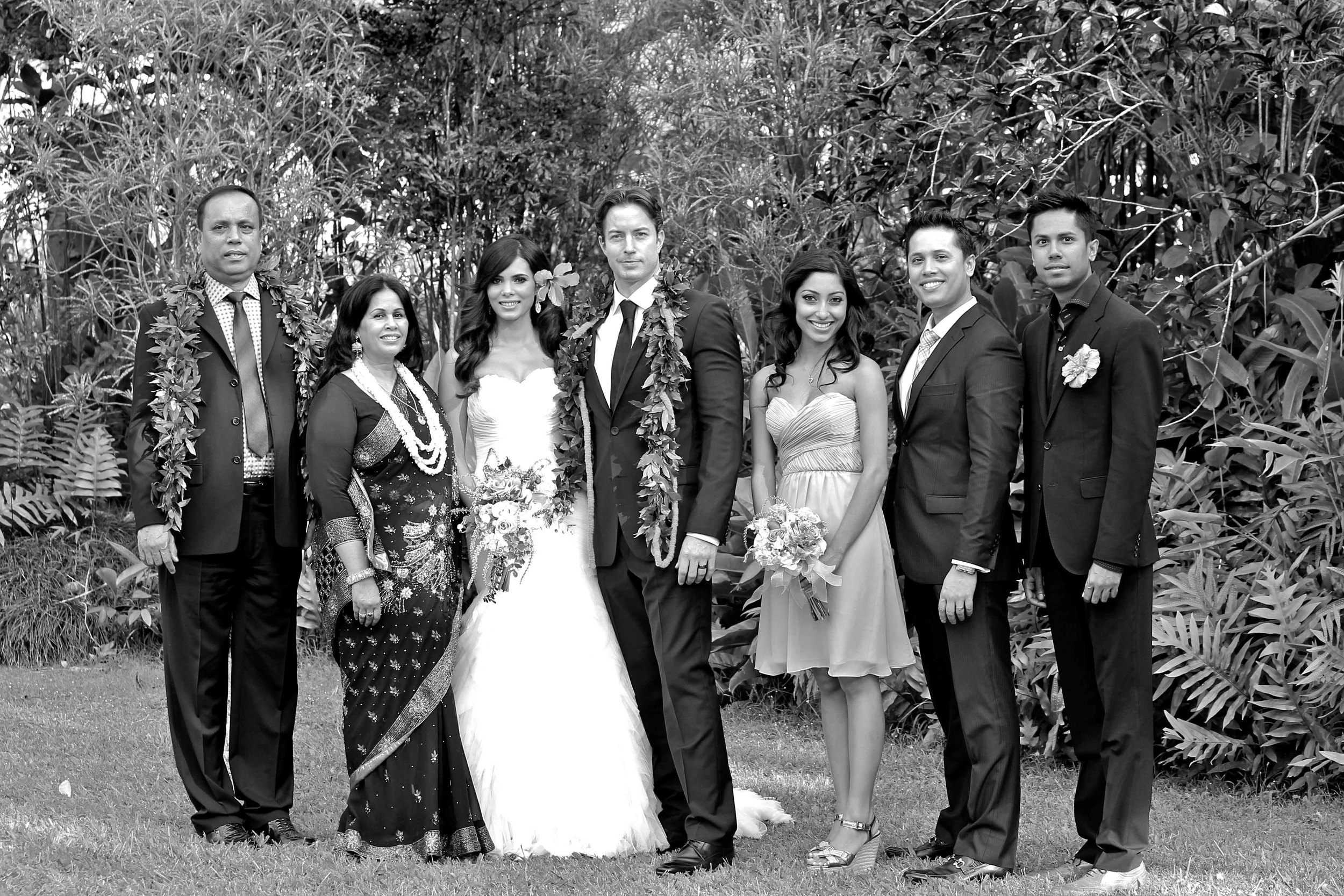 Waimea Valley Bridal Party