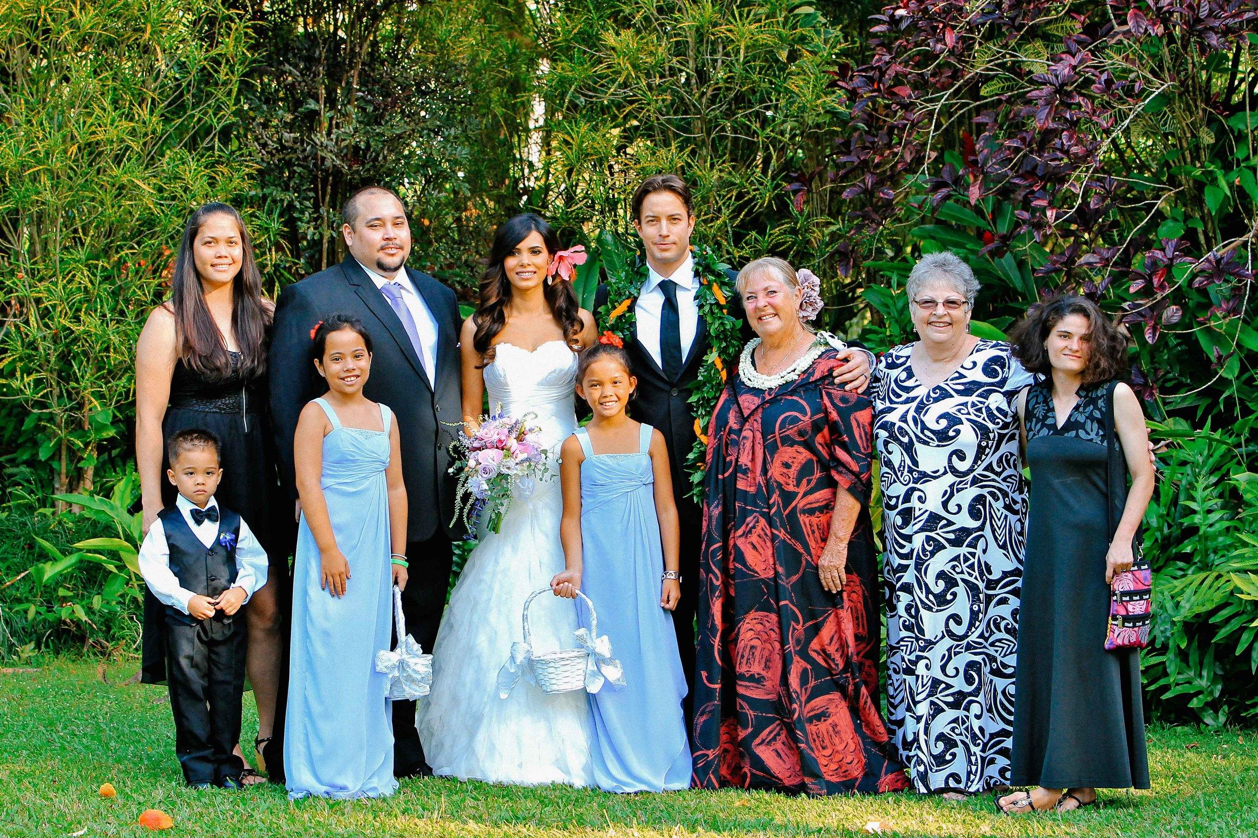 Waimea Bay Family Portrait