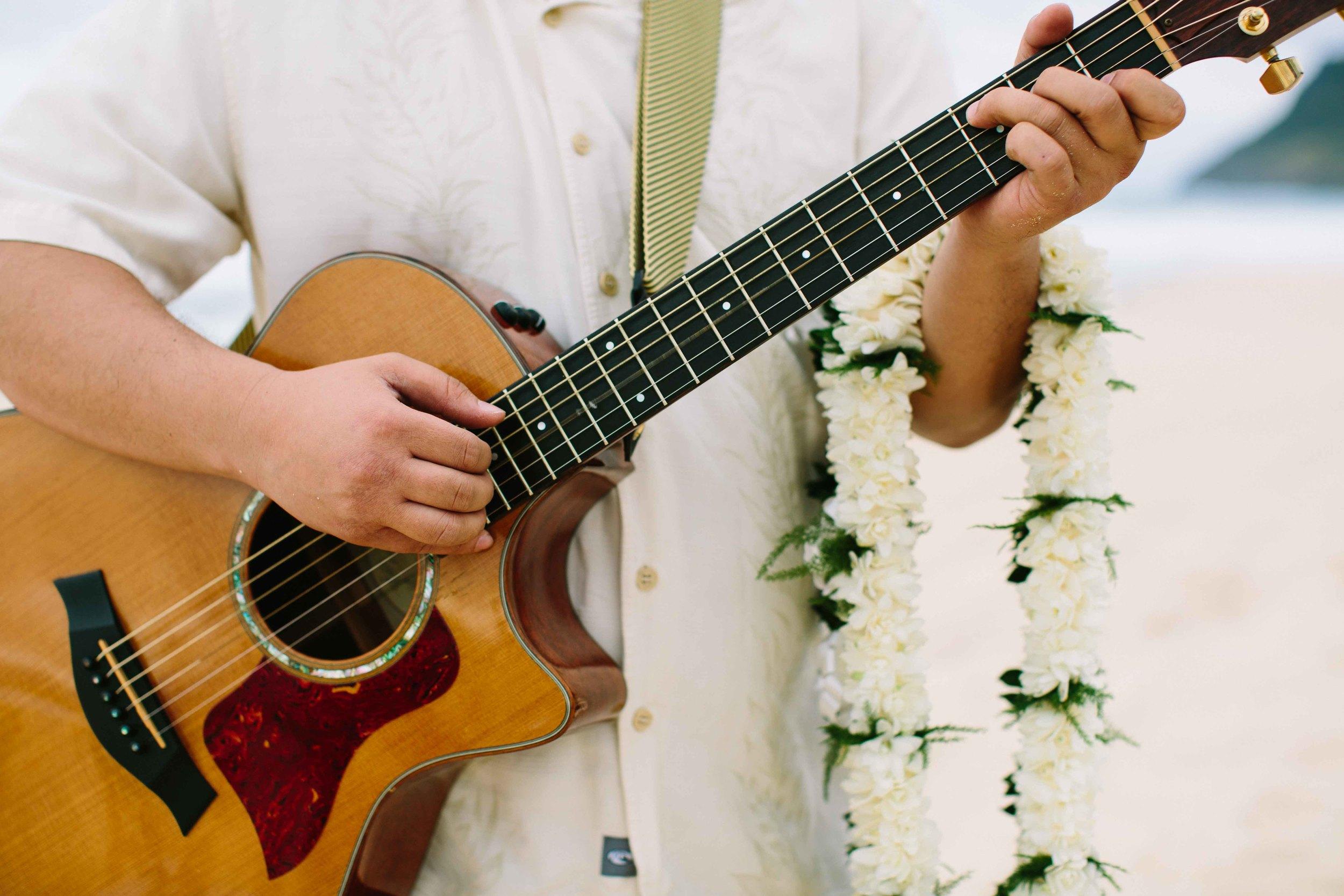 Acoustic Wedding Guitar