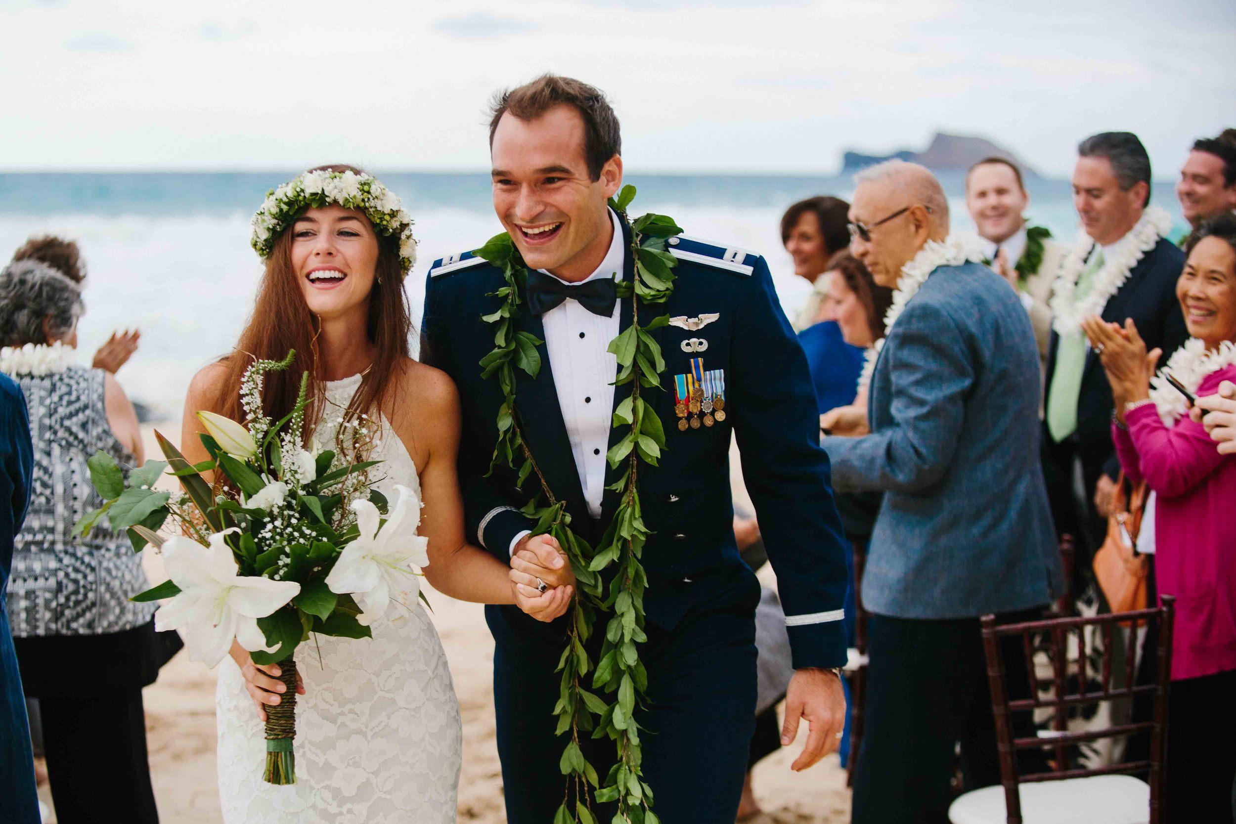 Oahu Beach Wedding