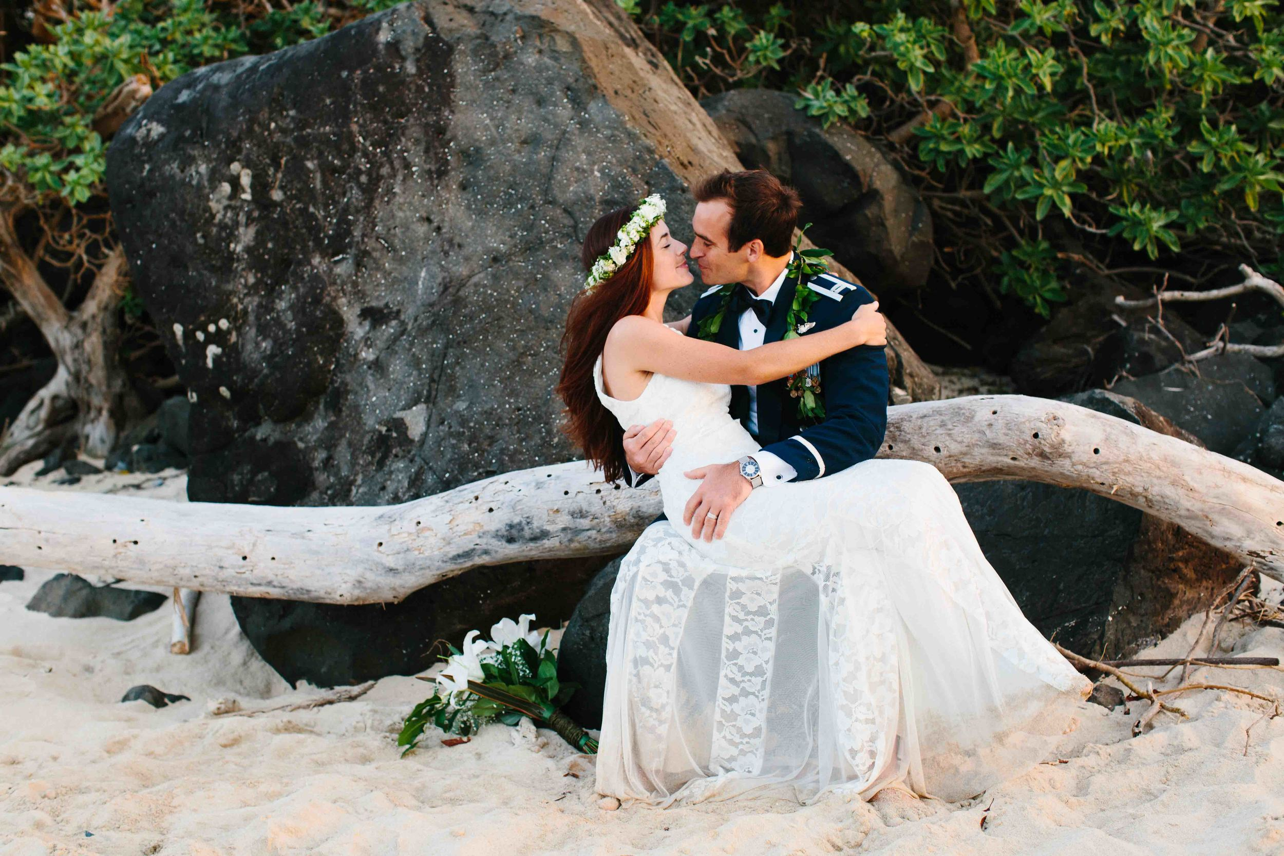 Kaneohe Beach Wedding