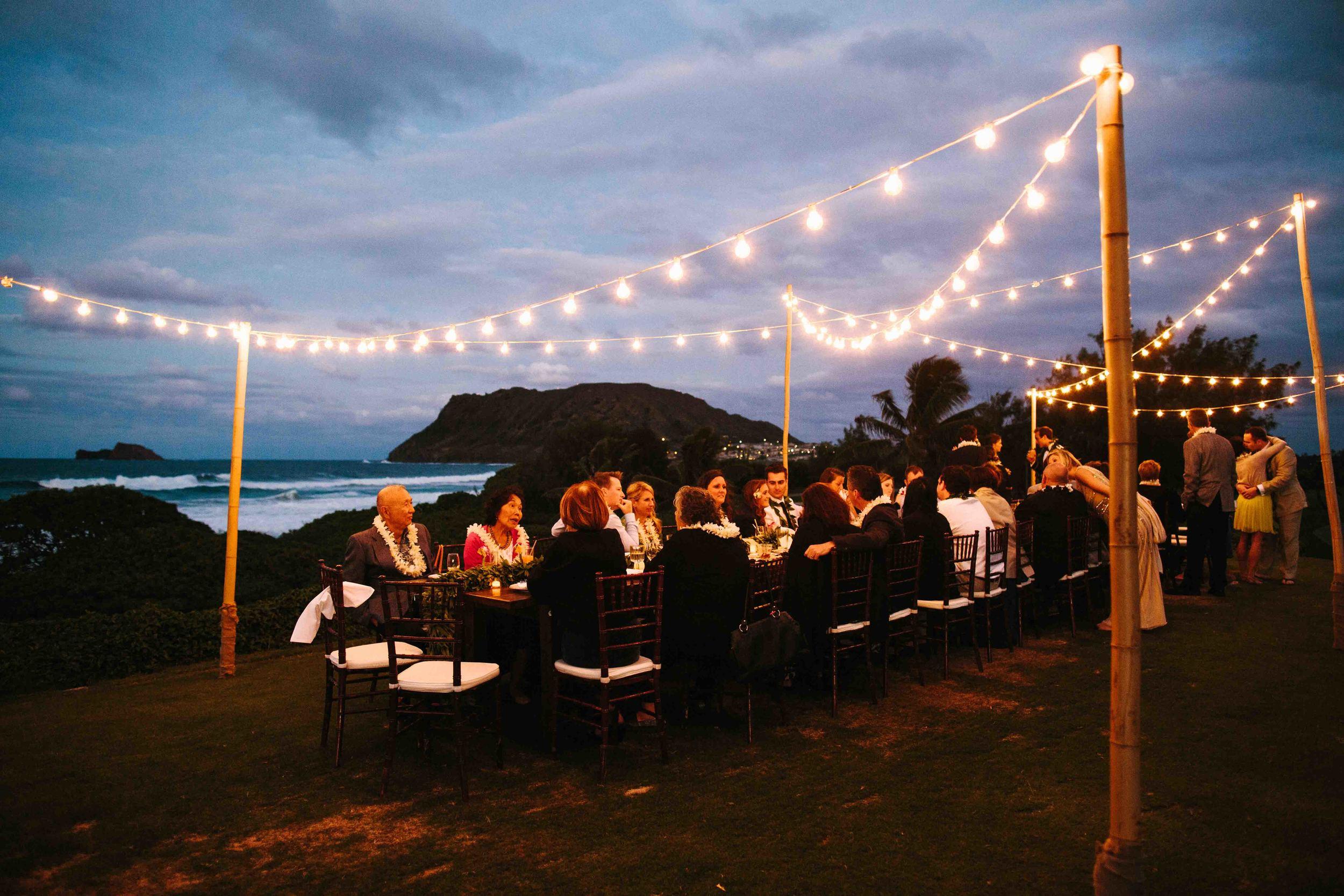 Kaneohe Wedding Reception