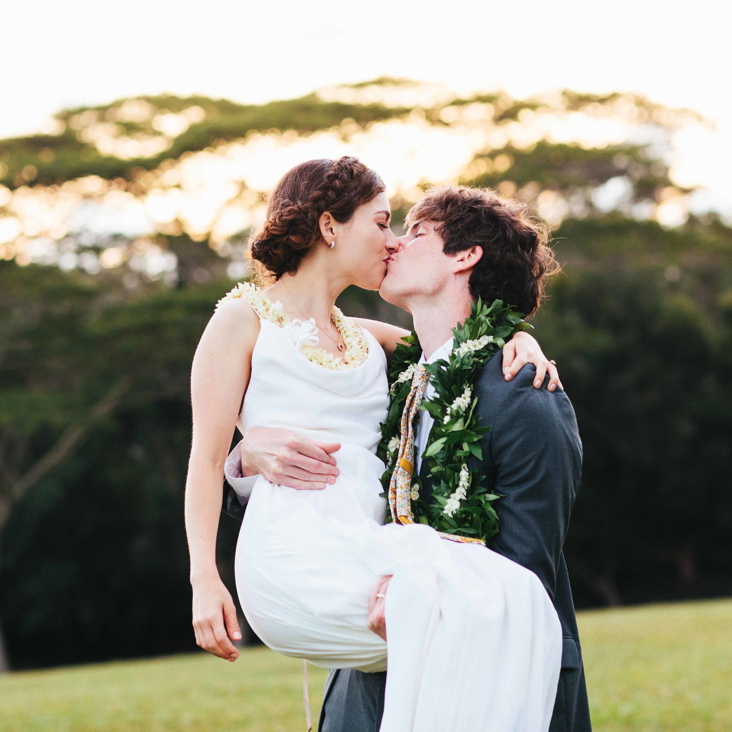 Hawaii Wedding Photography Sunset Ranch