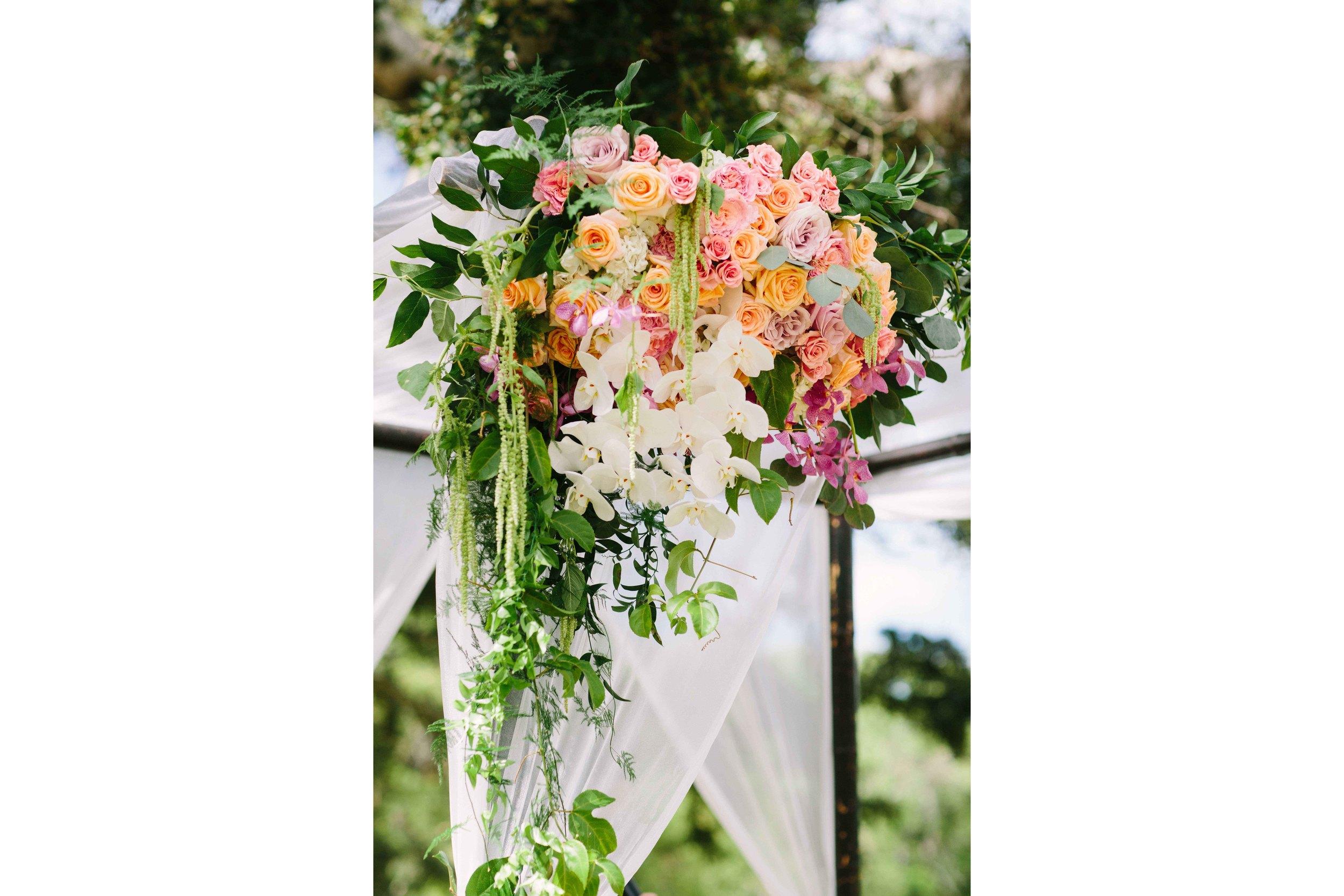 Wedding Alter Flower Detail