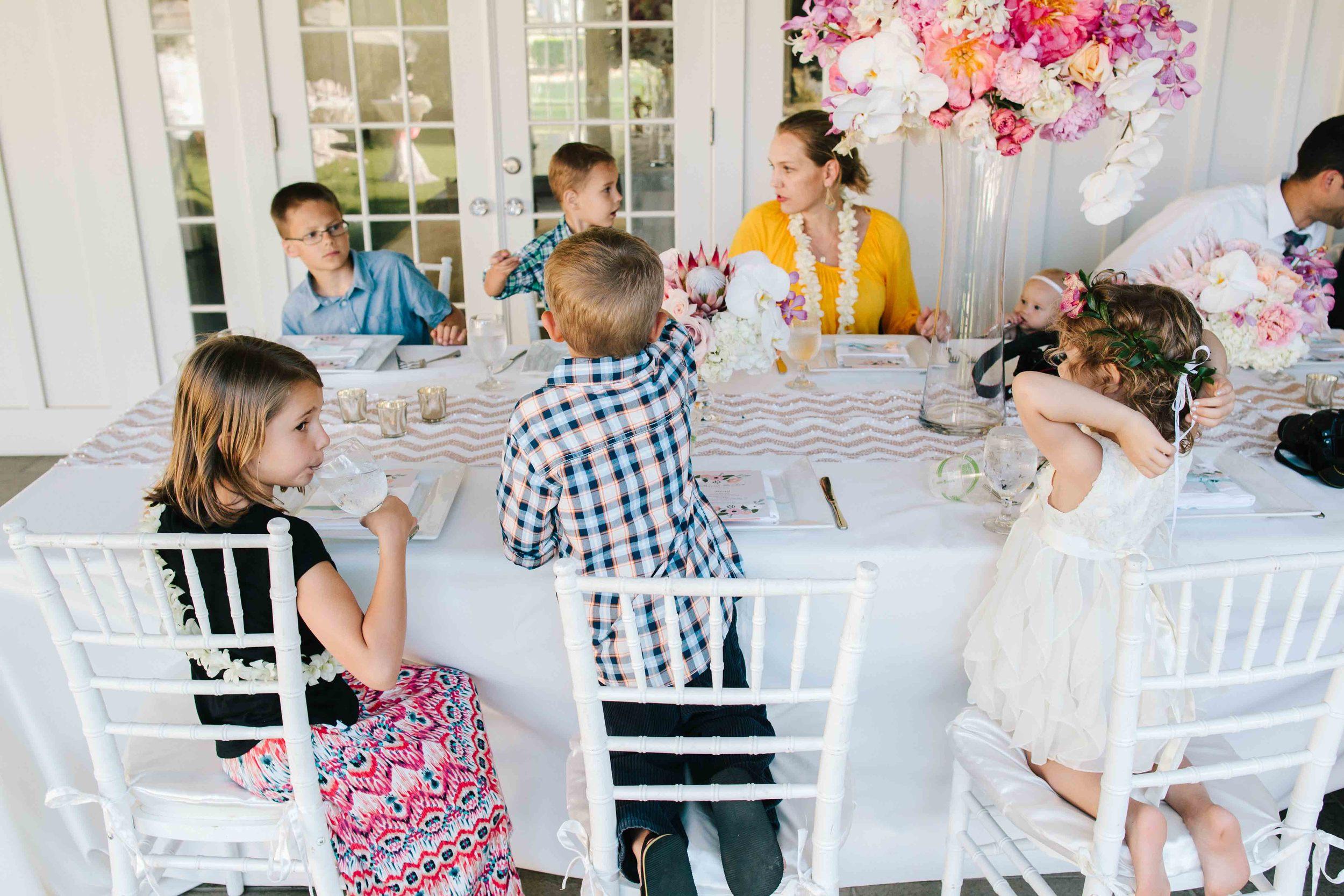 Candid Wedding Photography of Children