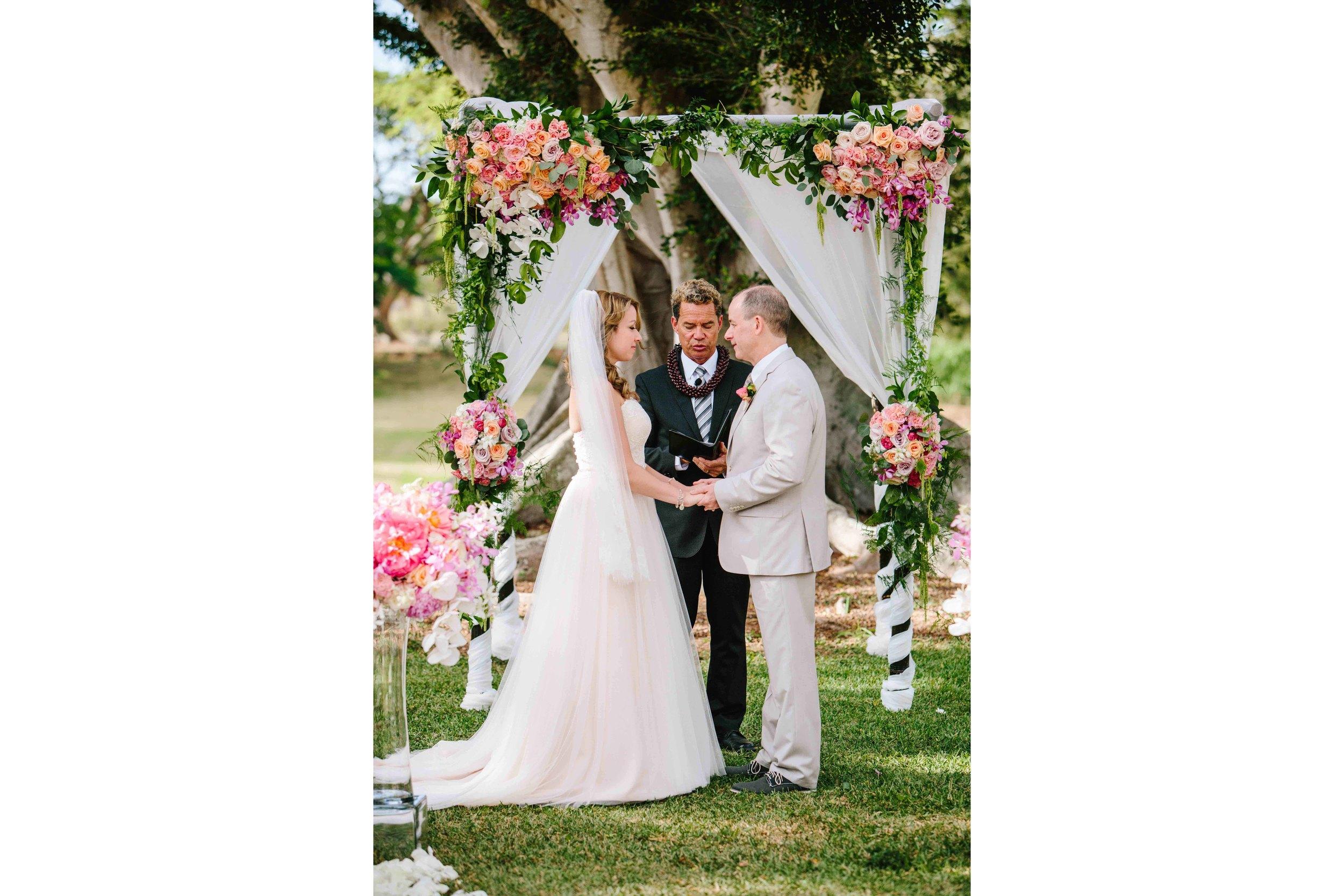 Hawaii Wedding Photography at Dillingham Ranch