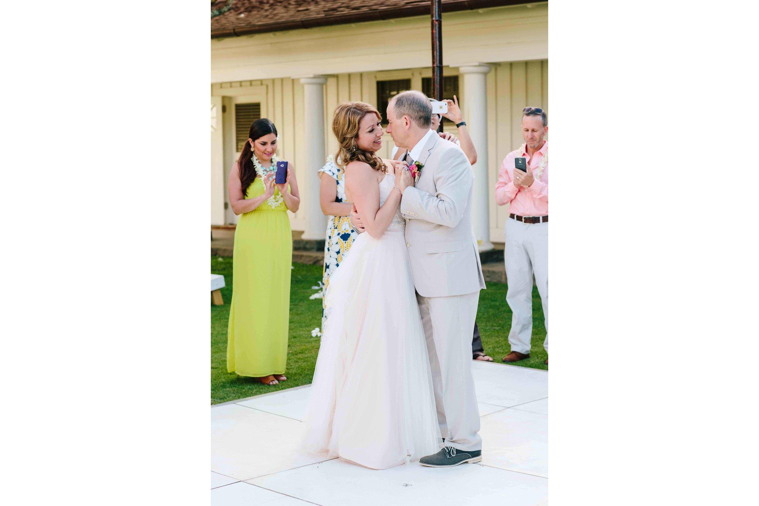 Hawaii Wedding Photography - First Dance