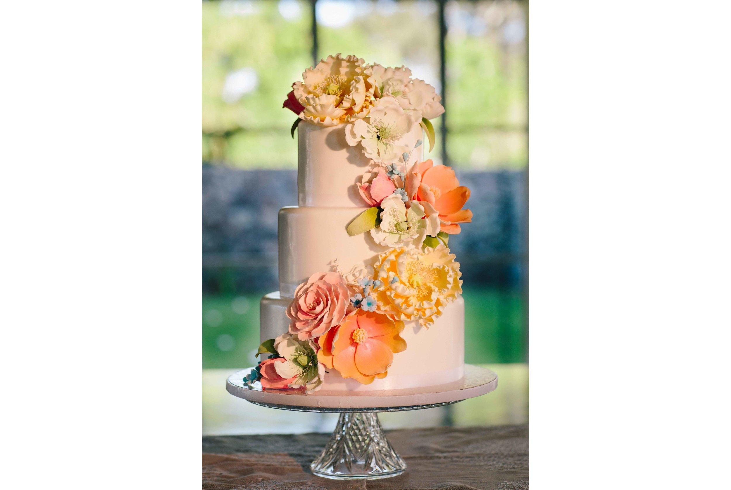 Dillingham Ranch Wedding Cake
