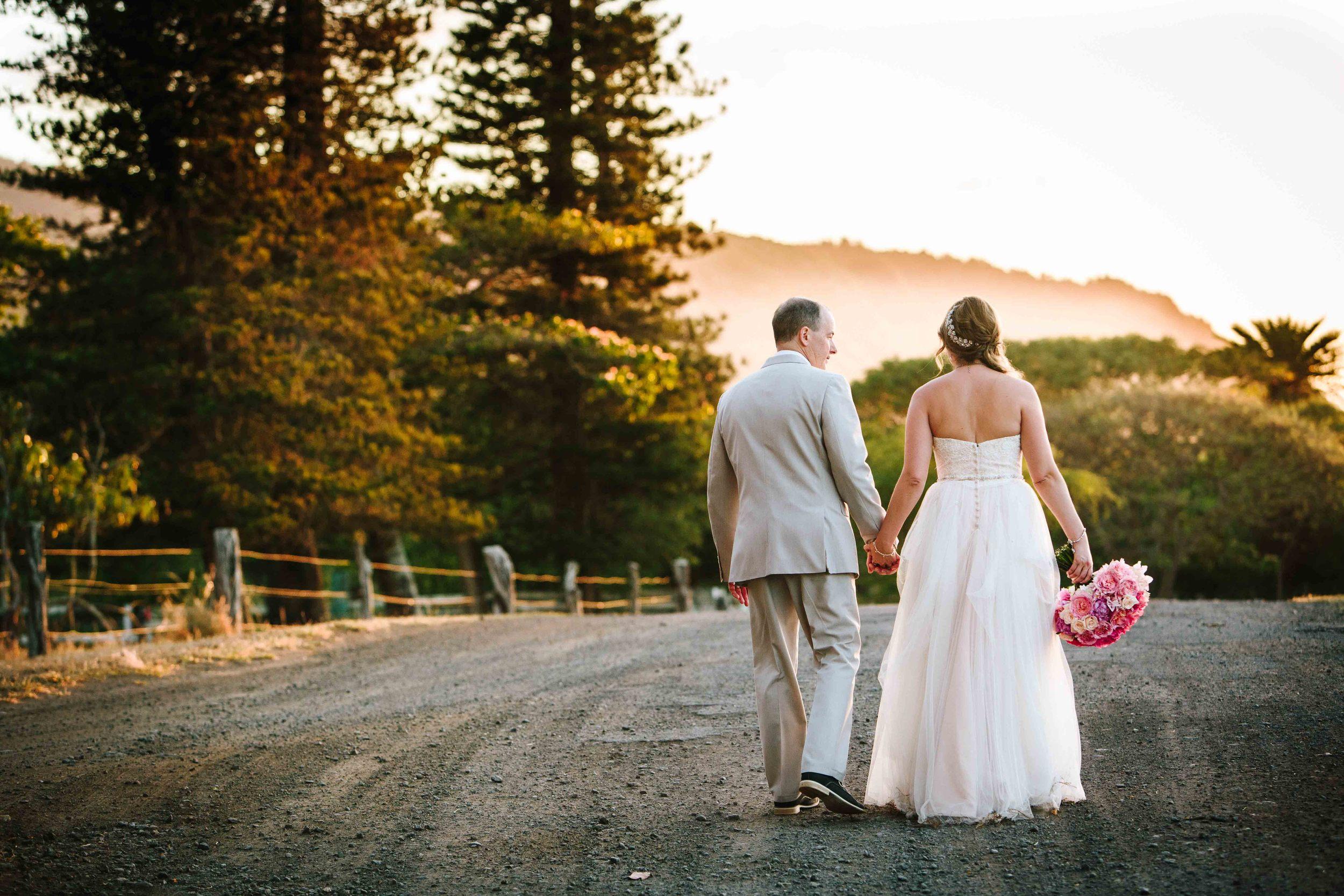 Sunset Wedding at Dillingham Ranch