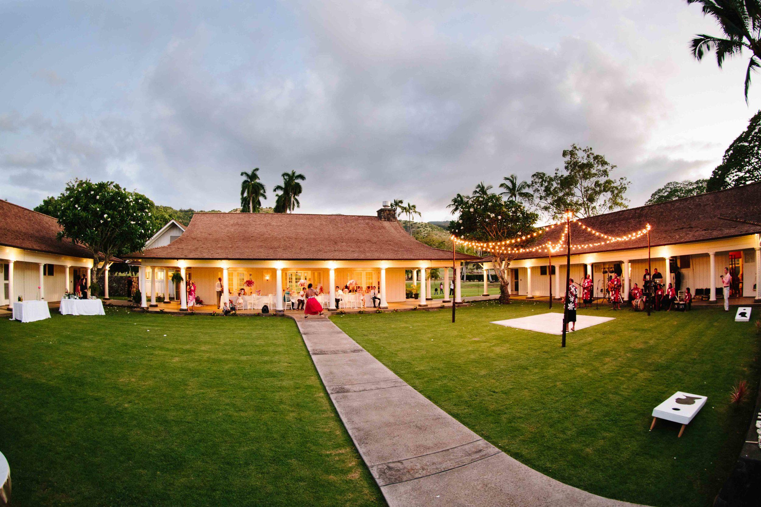 Hawaii Wedding Location Dillingham Ranch