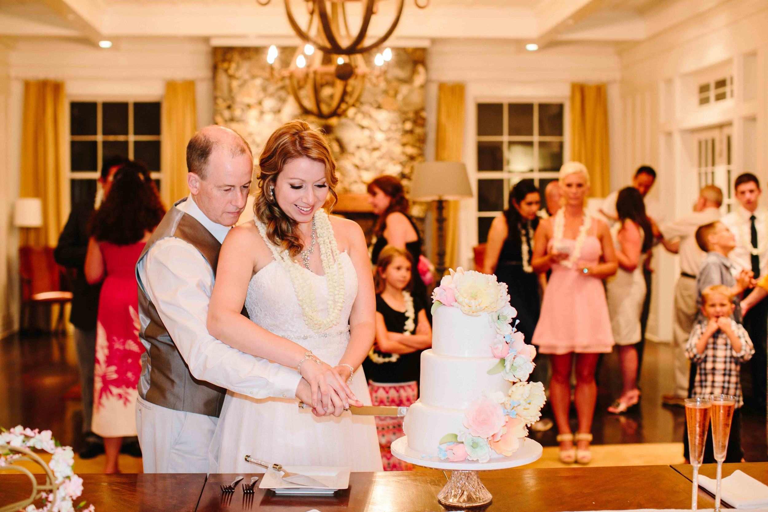 Cake Cutting at Dillingham Ranch