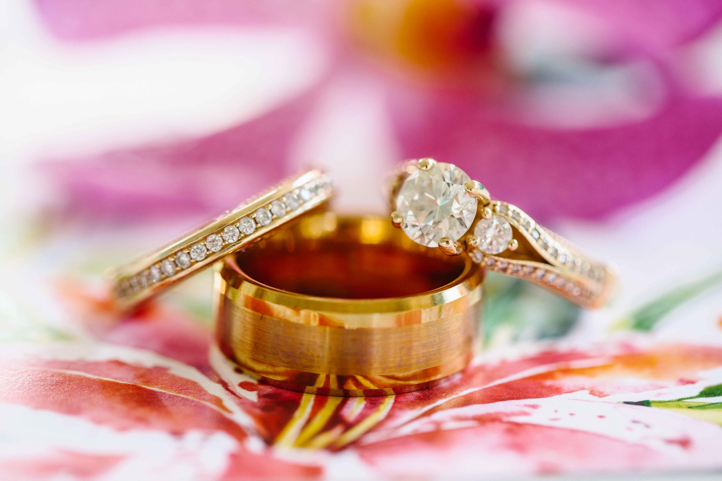 Gorgeous Gold Hawaii Engagement Rings