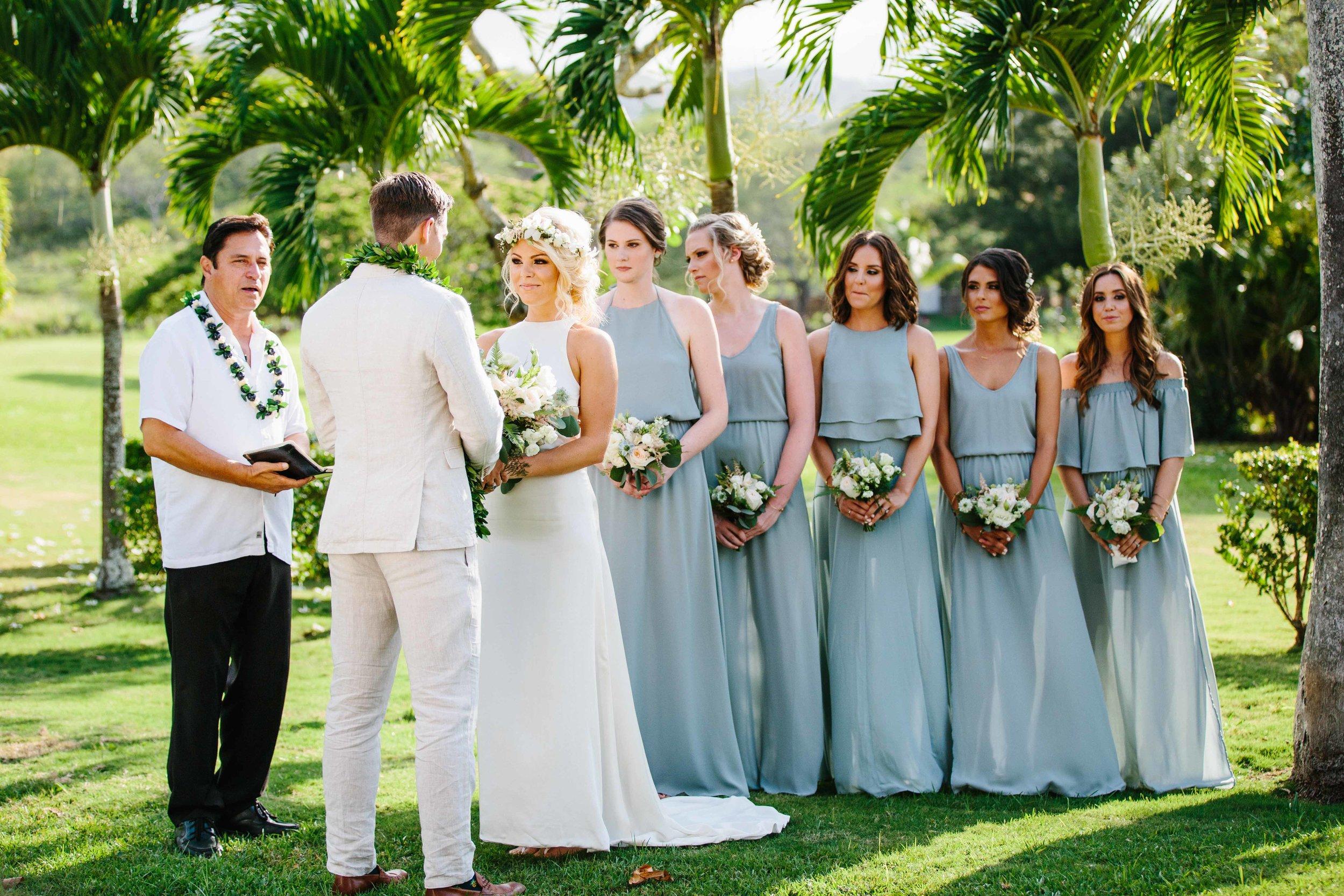 Hawaiian Ceremony Wedding