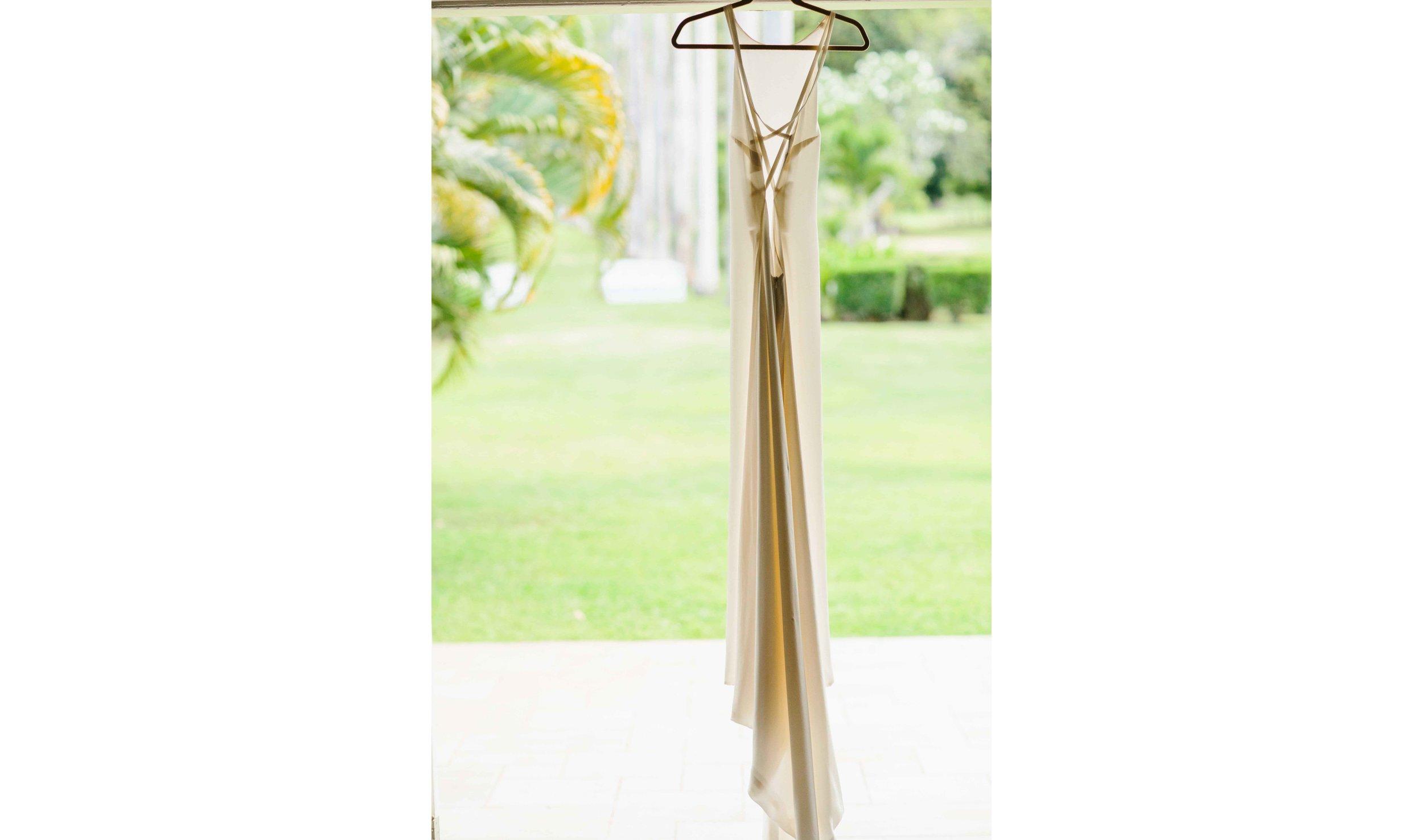 Simple Bridal Dress