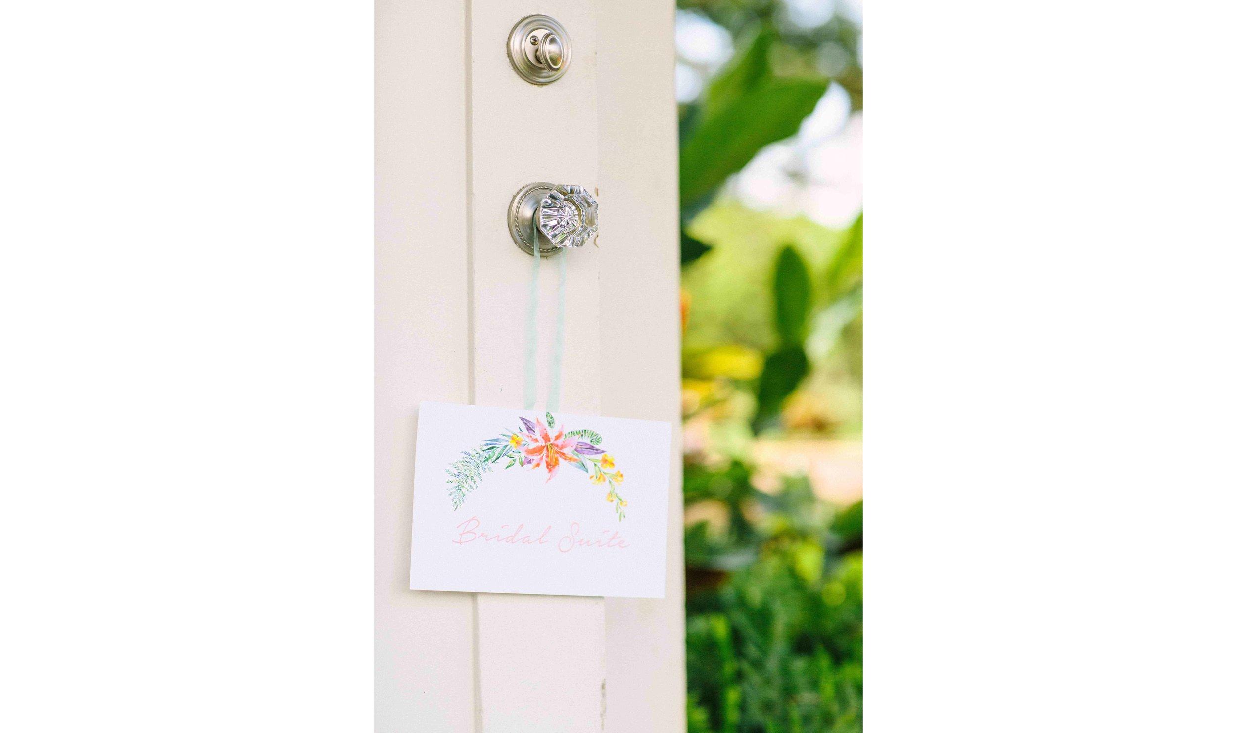 Custom Bridal Suite, Oahu Photographer