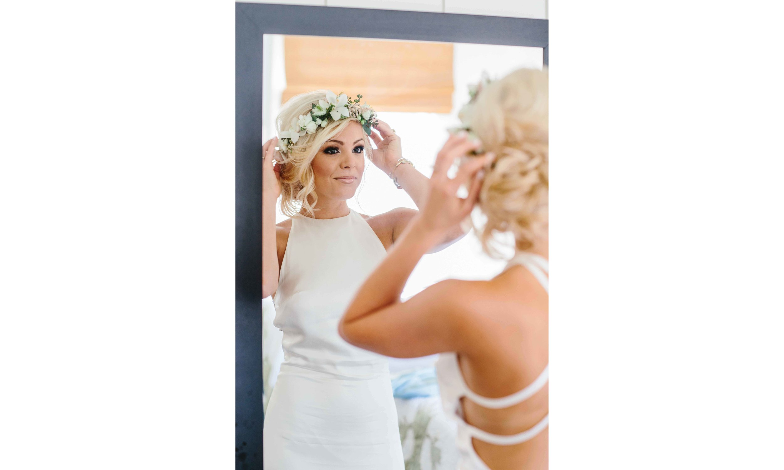 Hawaii Bride Before Ceremony Photo