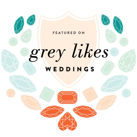 Grey Likes Weddings Featured Wedding Photography
