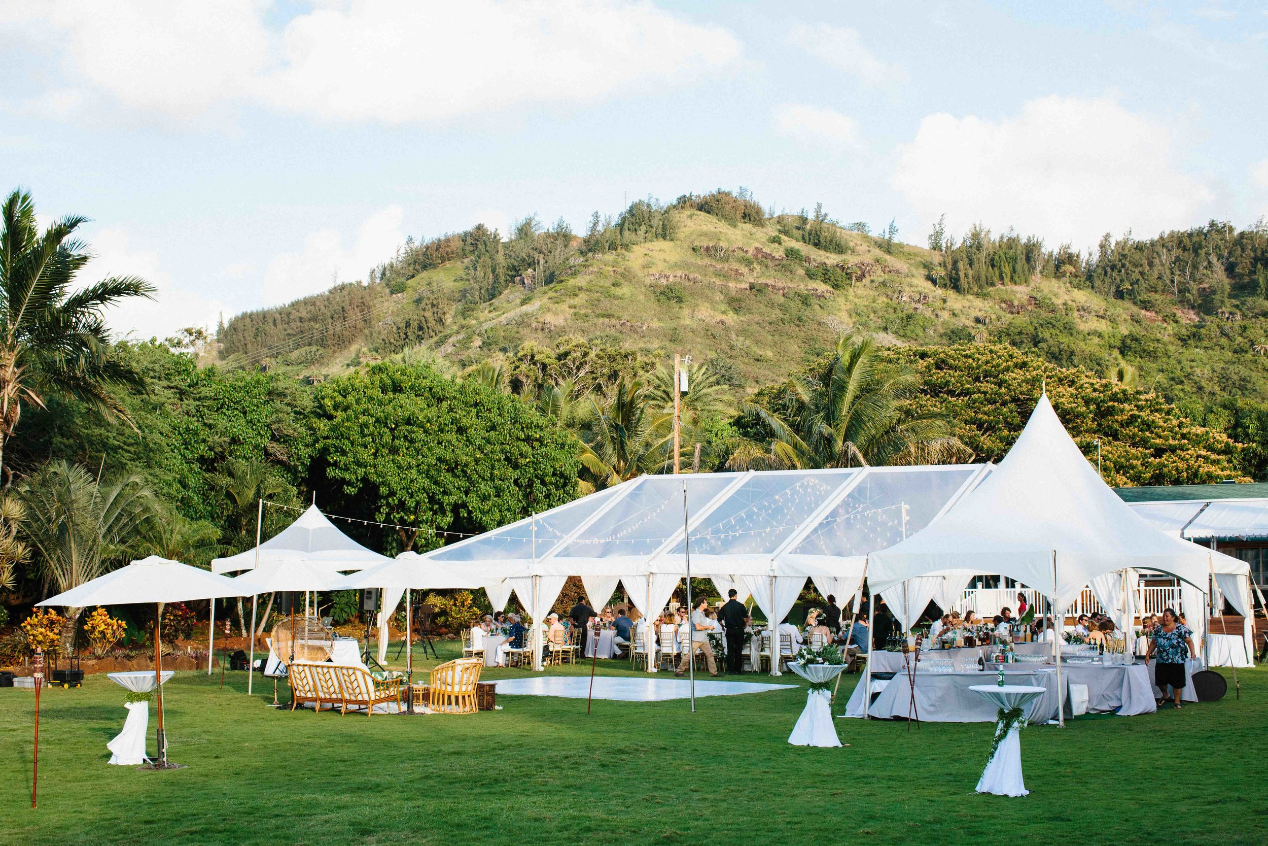 Wedding Event at Loulu Palm Farm Estate
