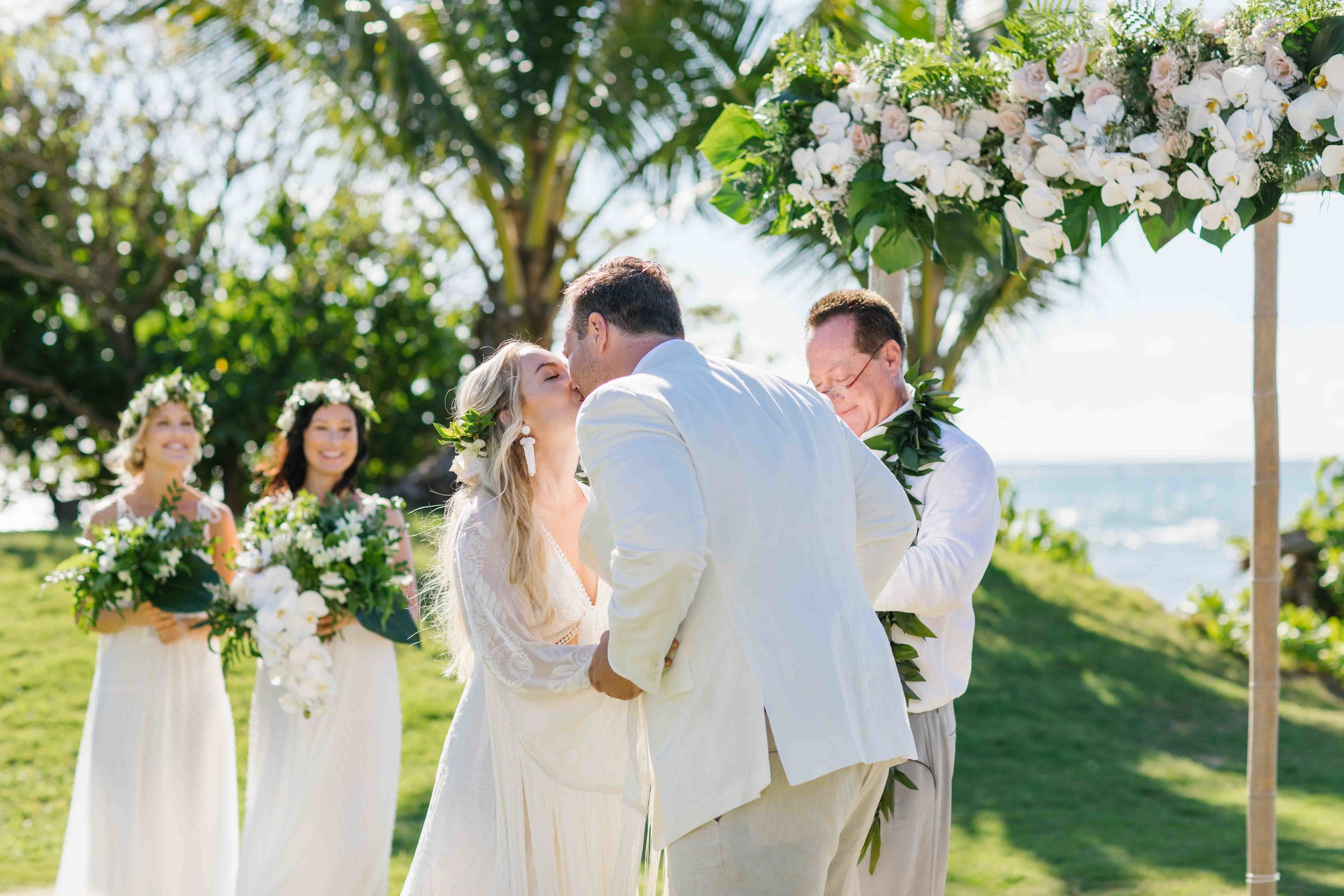 Oahu Wedding Photography at Loulu Palm Farm Estate