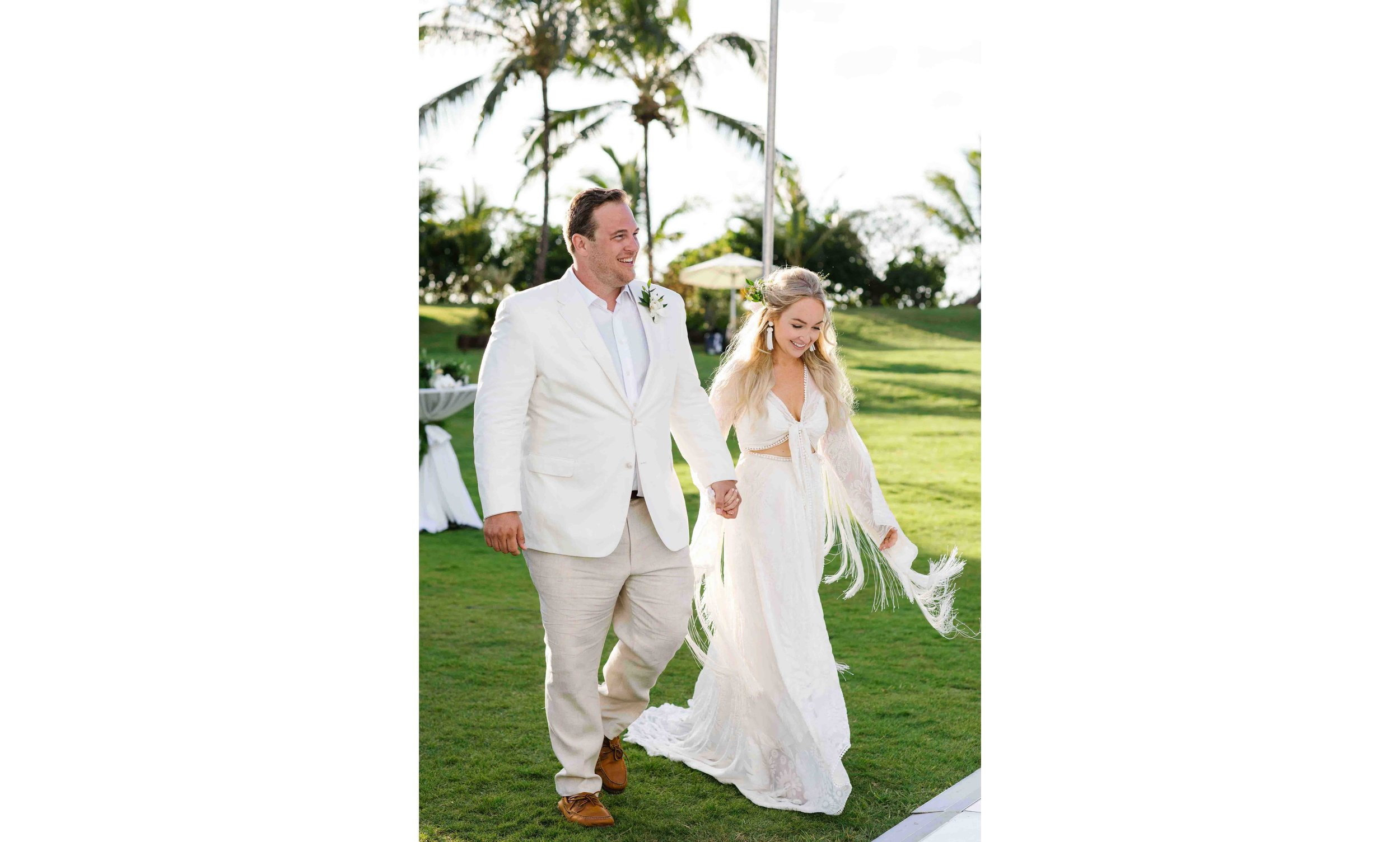 Candid Wedding Photography of Boho Bride and Groom