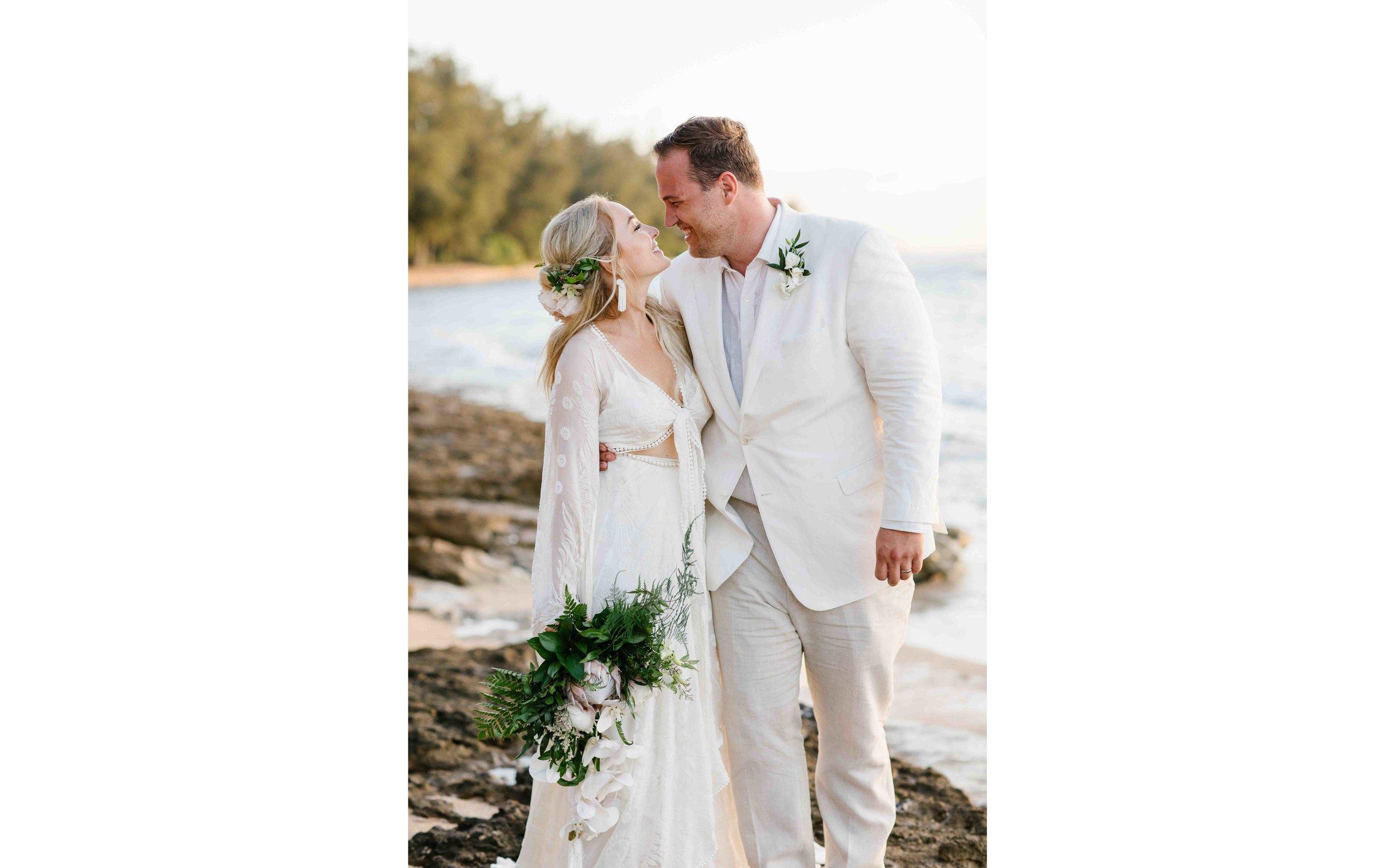 Bohemian Wedding Photography in Hawaii