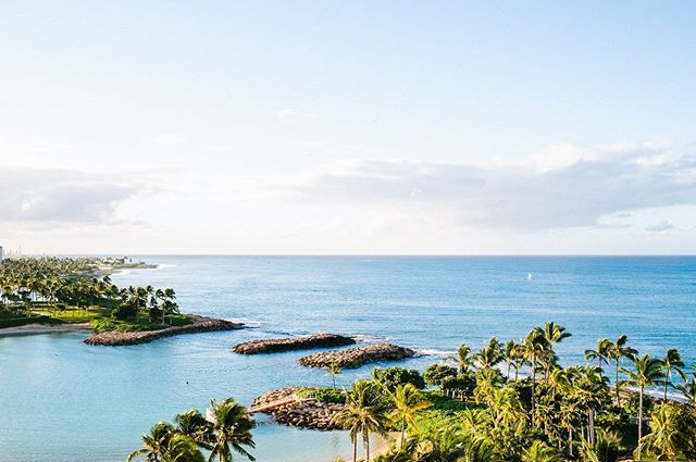 Imagine waking up on your wedding day to this view! 🏝 @fsoahu @fsoahuevents