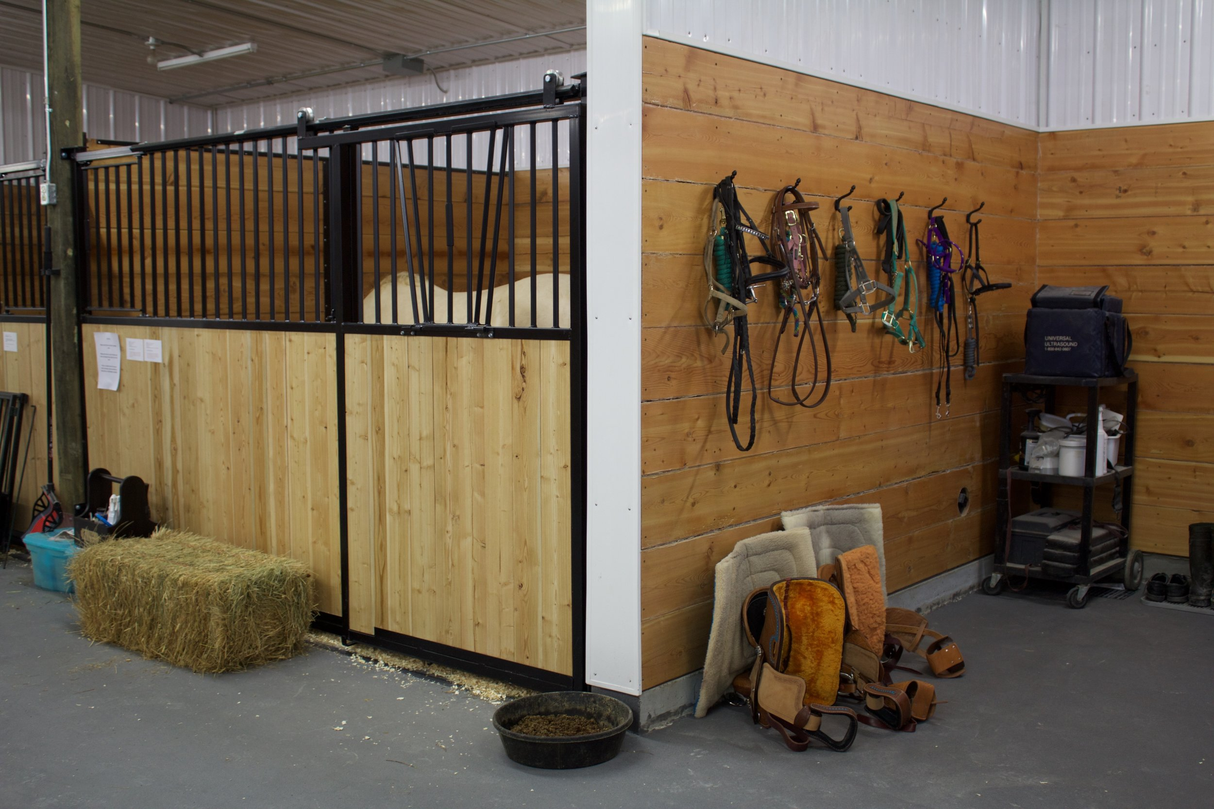 Our Stalls & Tack Area