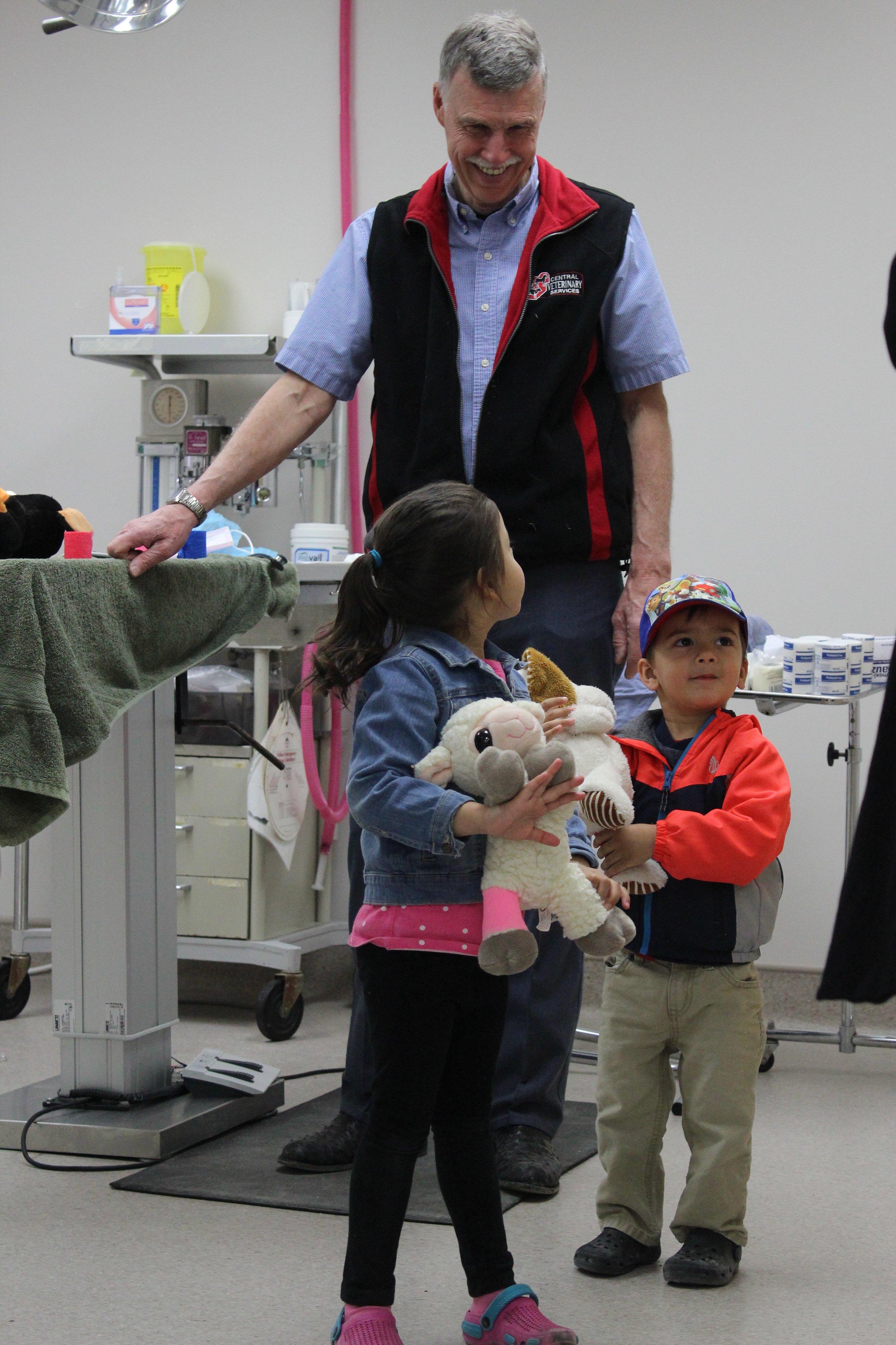 Teddy Bear Surgery with Dr. Ken Johnson