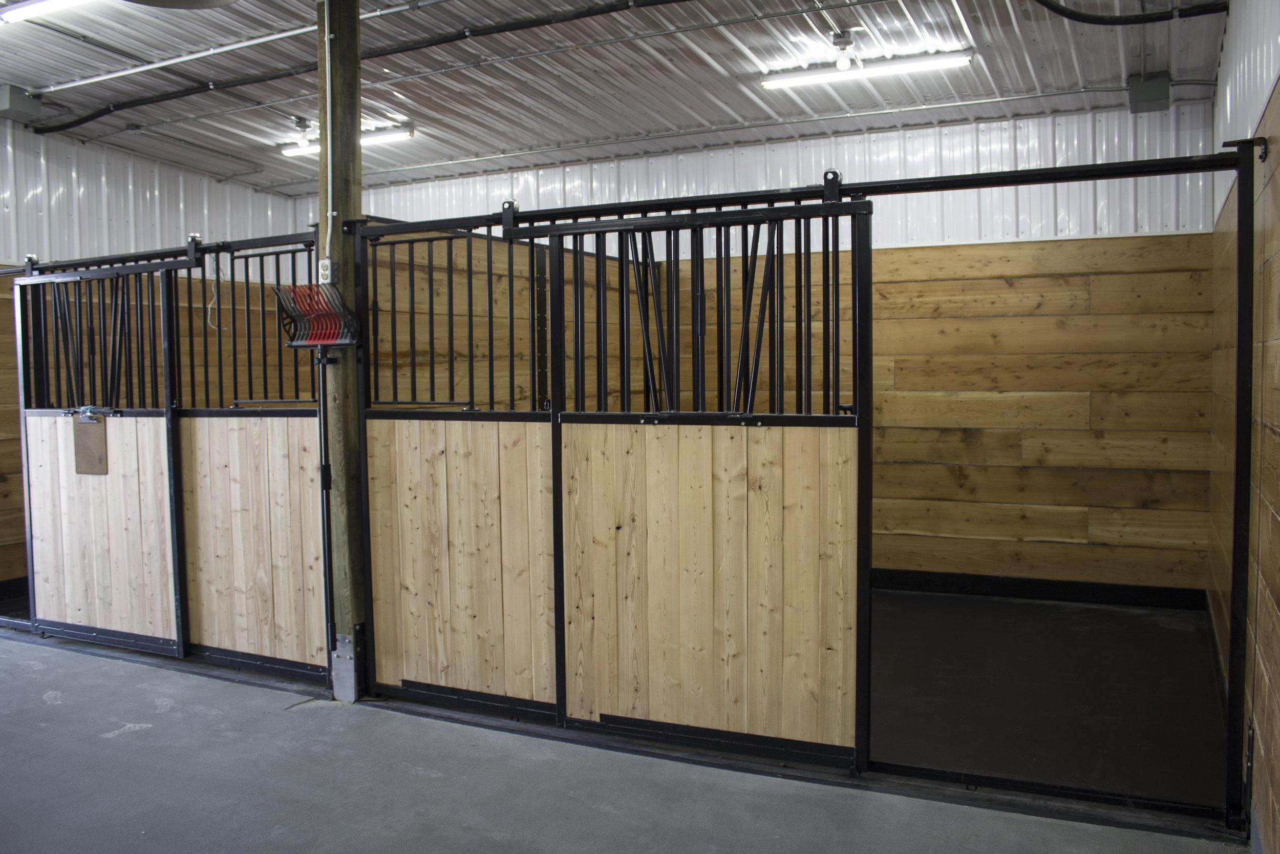 Large Animal Stalls