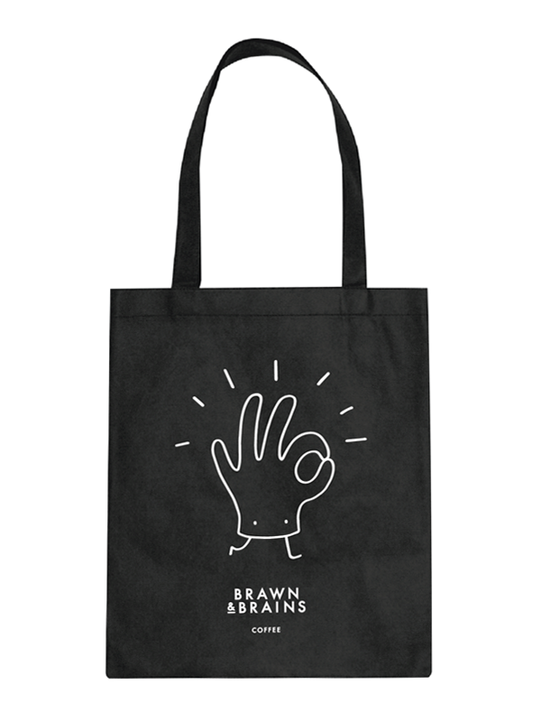 Brawn & Brains Totebag