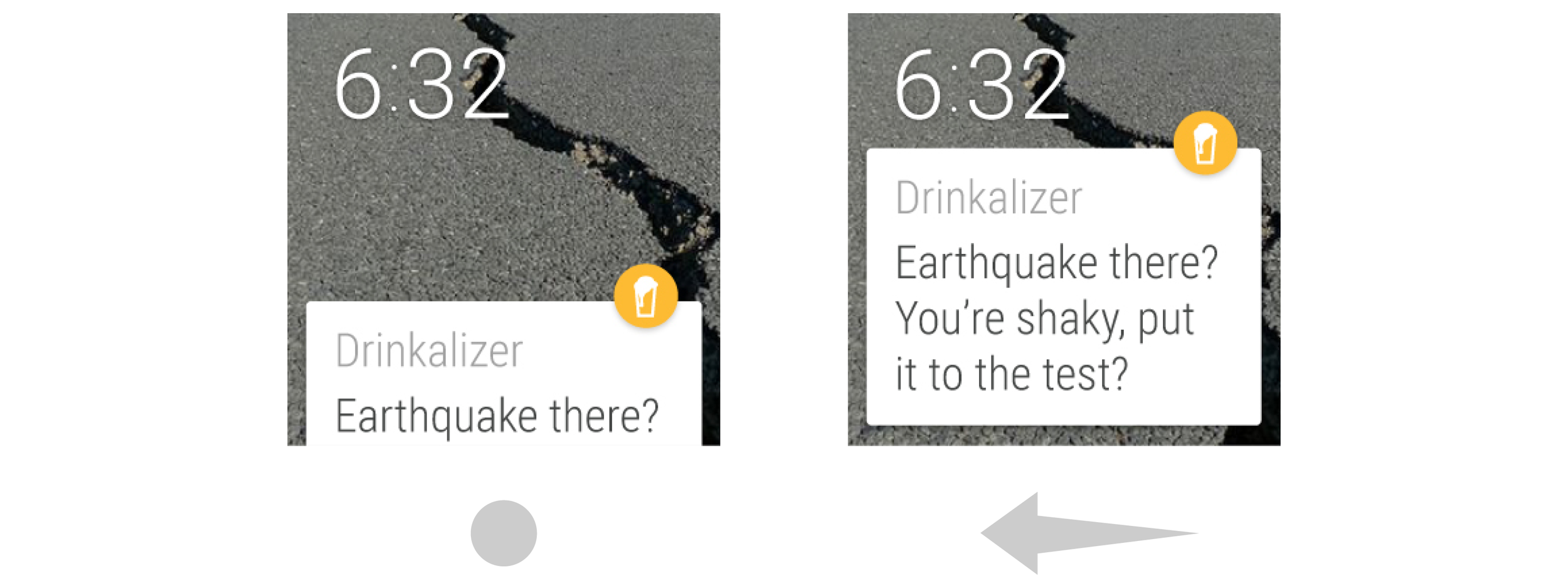 Drinkalizer Wearable Technology Android App