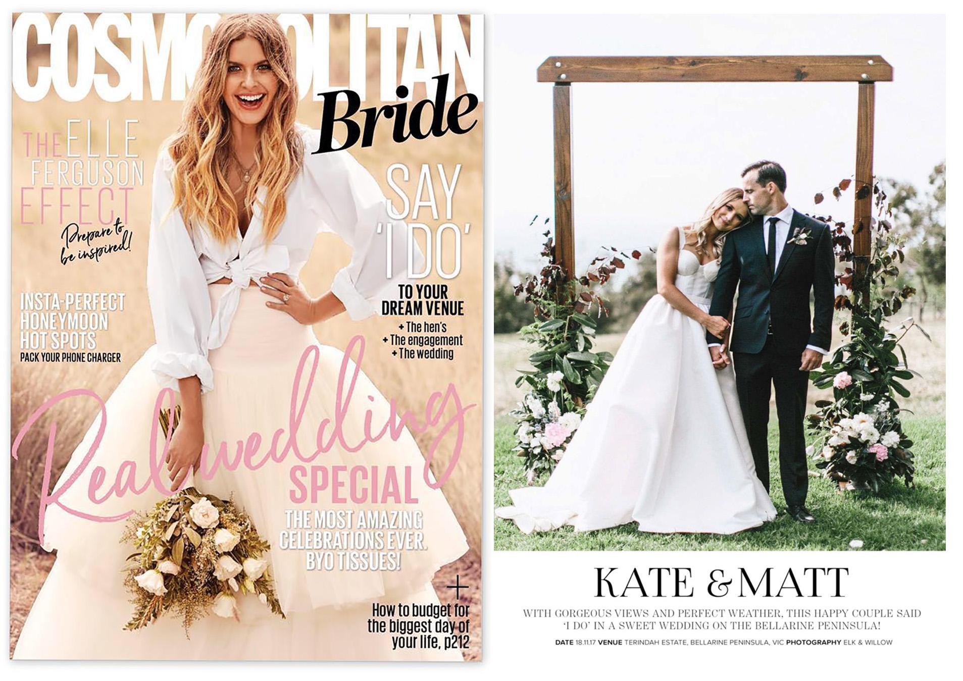 Kate & Matt / Cosmo Bride Winter 2018