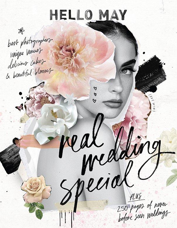 Isaac & Sarah / HELLO MAY 2018 Real Wedding Special