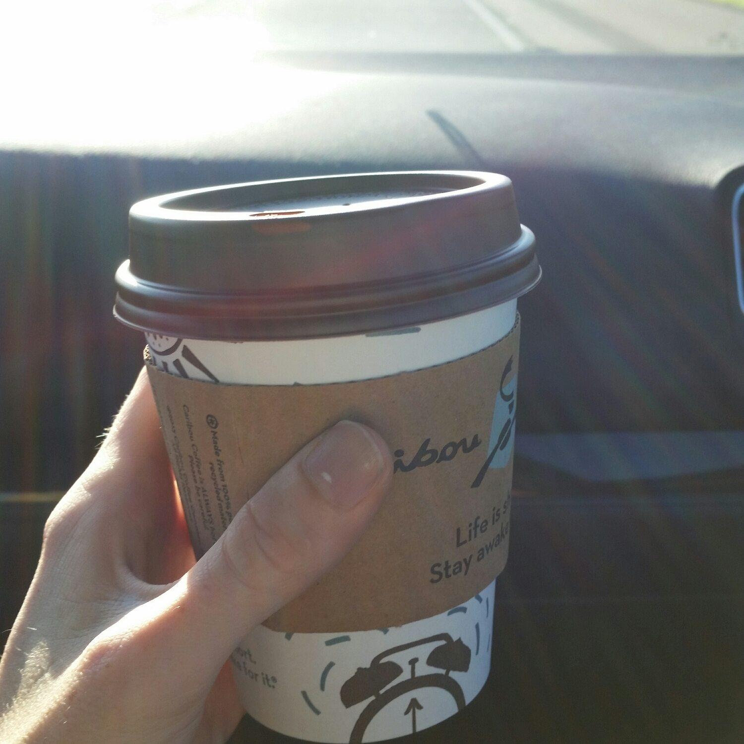 coffee to start the first day right