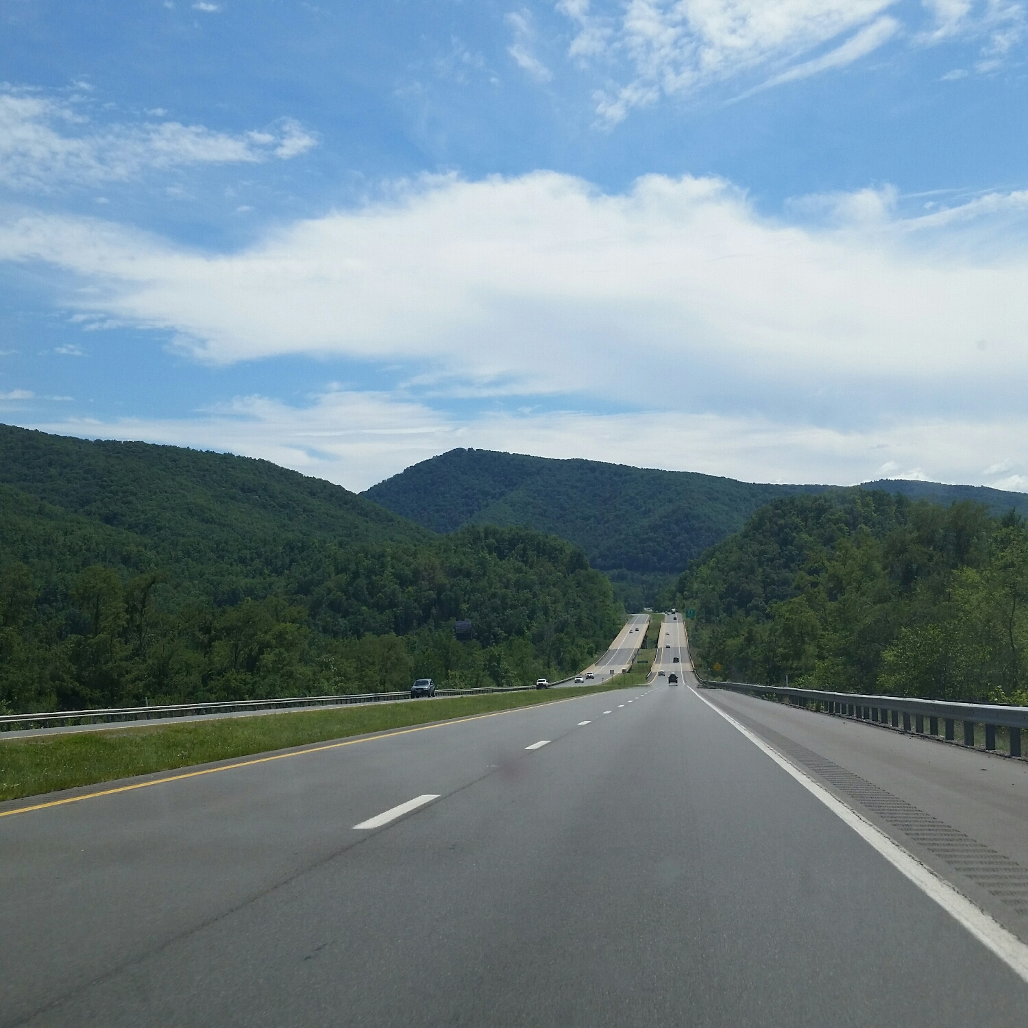 but, mountains in West Virginia