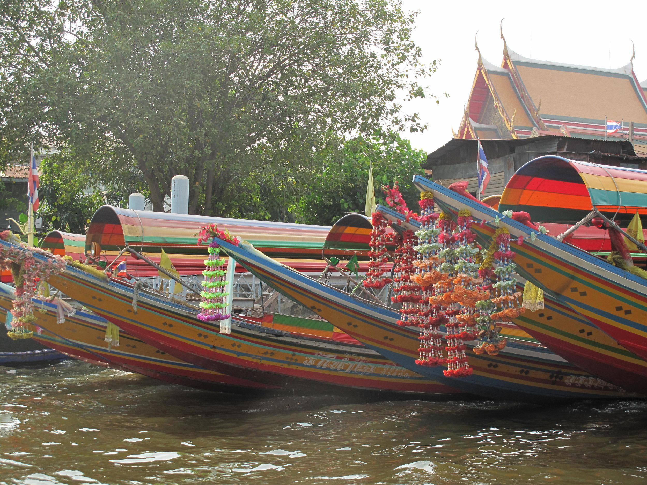 Longtails in Bangkok