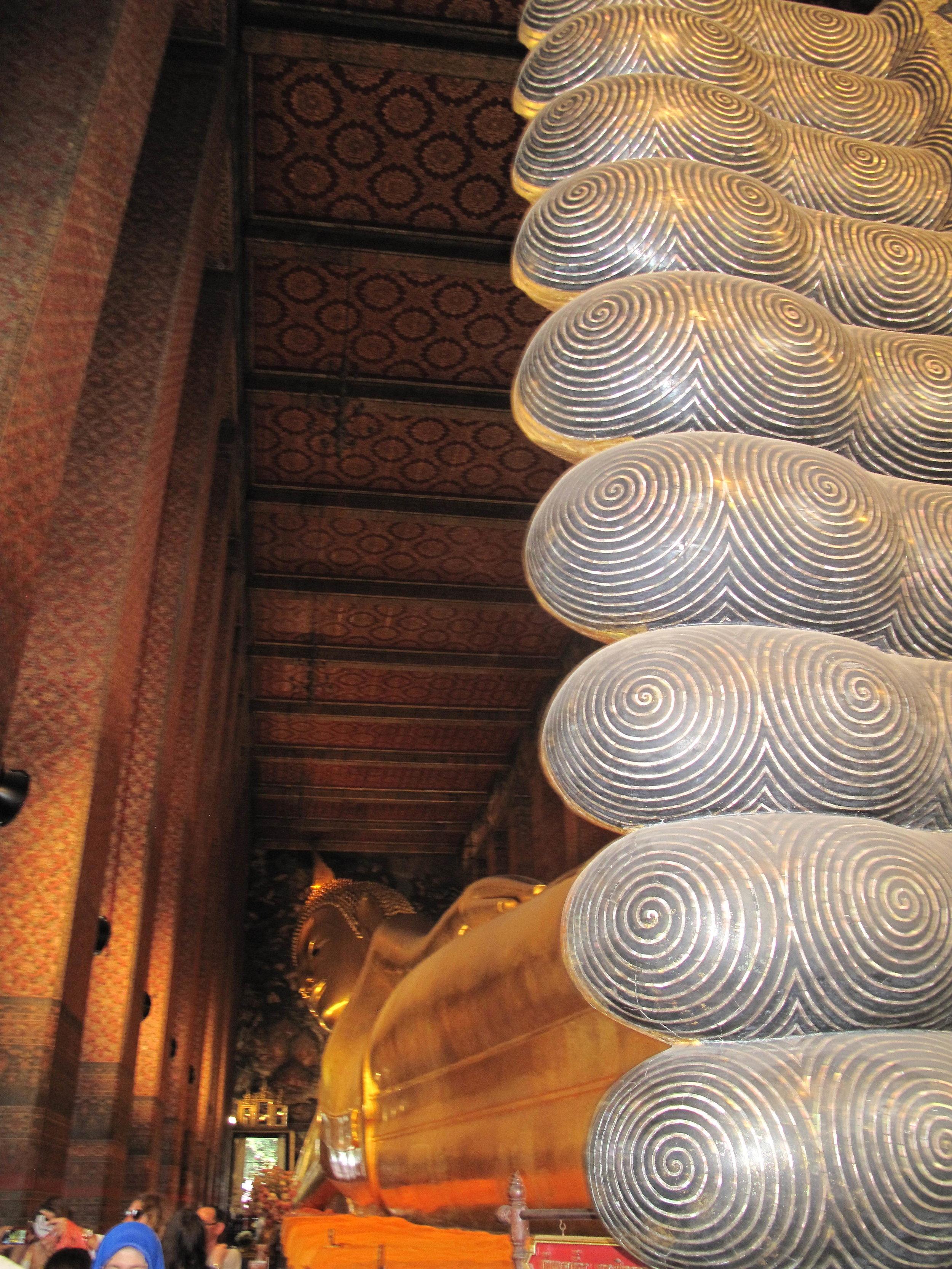 Reclining Buddha, Wat Pho, Bangkok