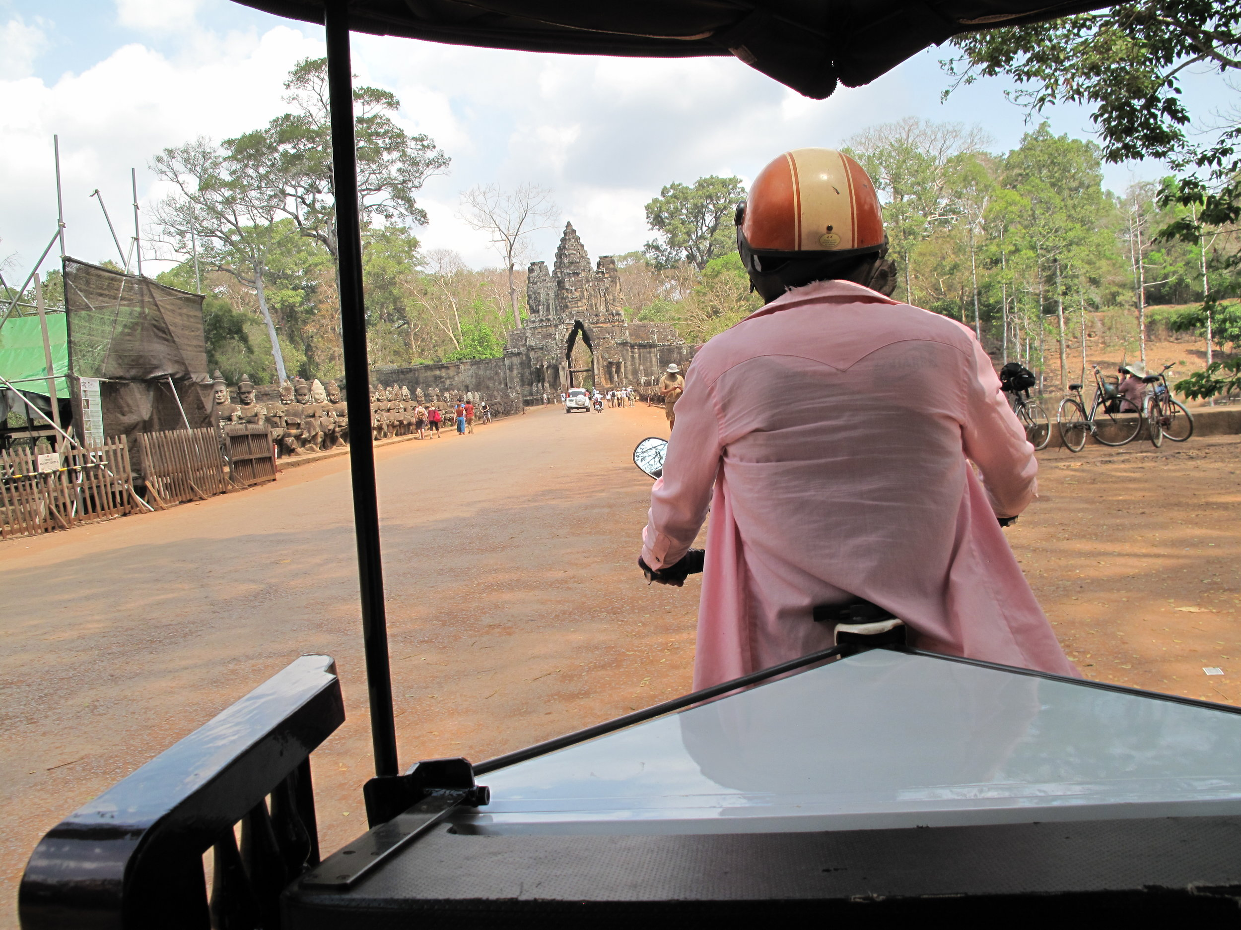 The view from the tuk-tuk, Temples of Angkor, Siem Reap