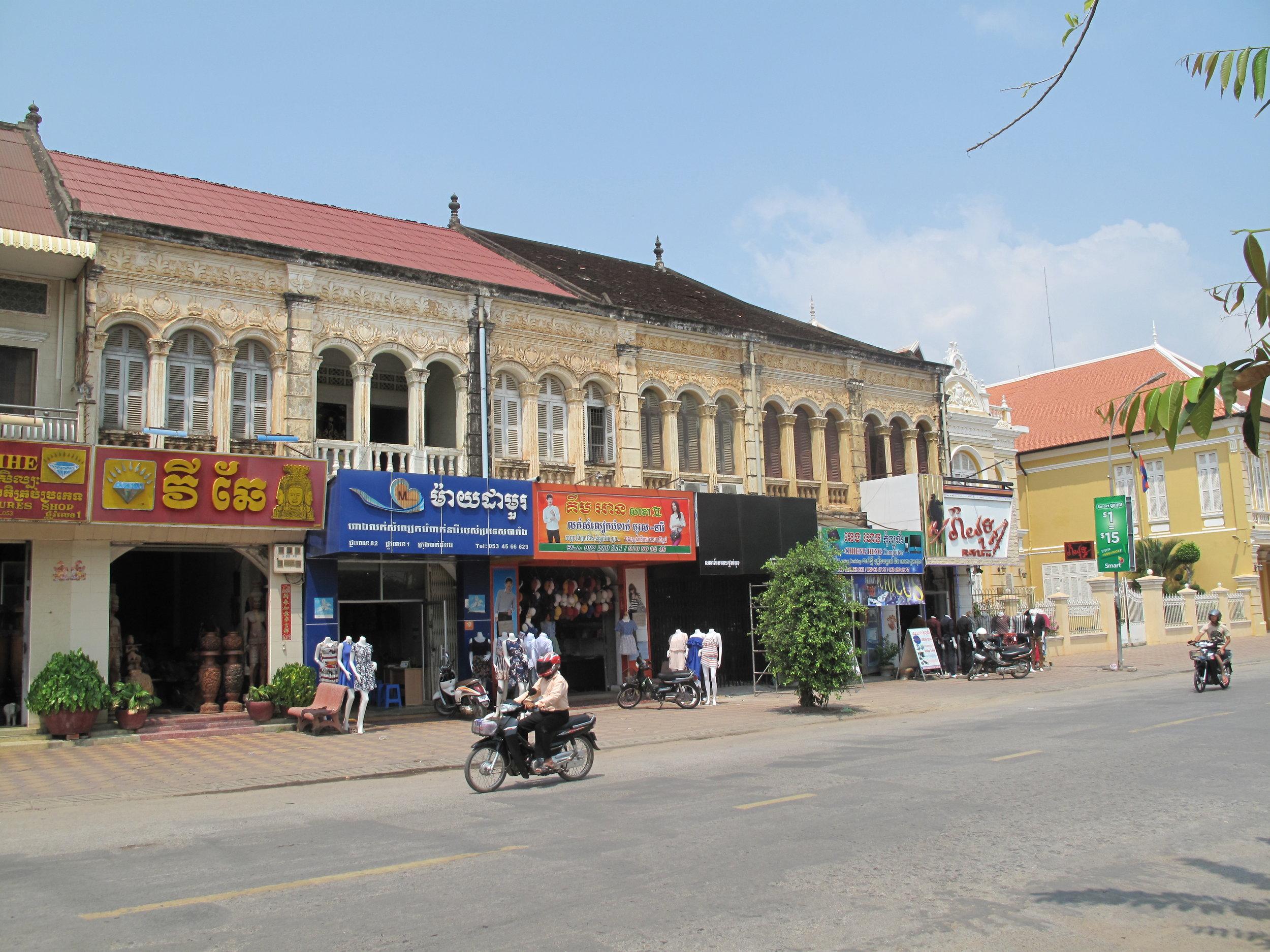 Battambang walking tour