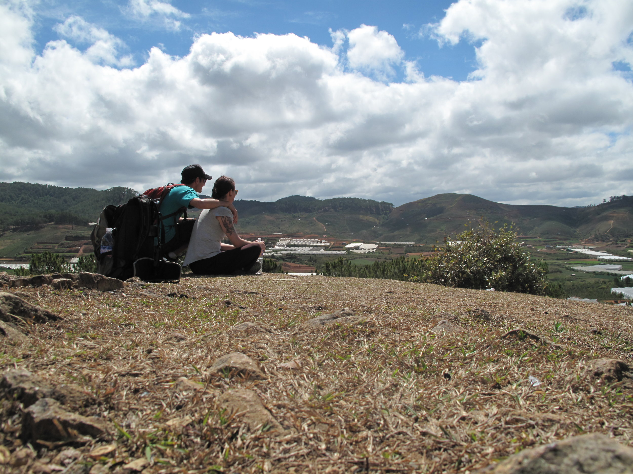 Three Peaks hike, Dalat