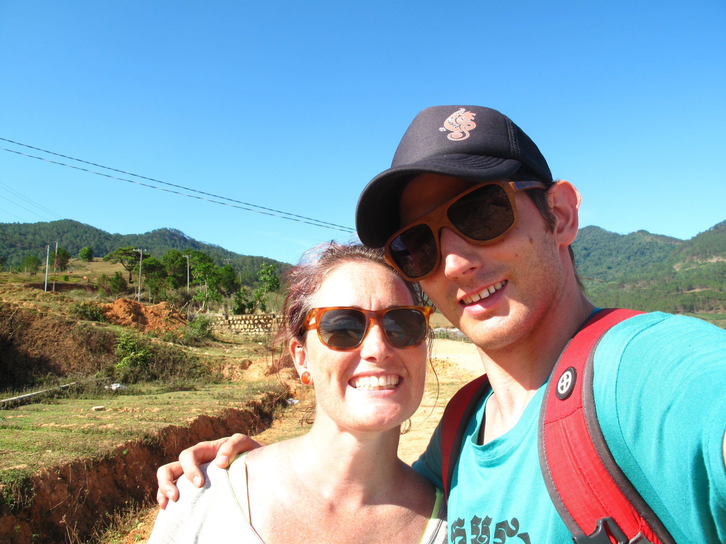 Final selfie, Three Peaks hike, Dalat