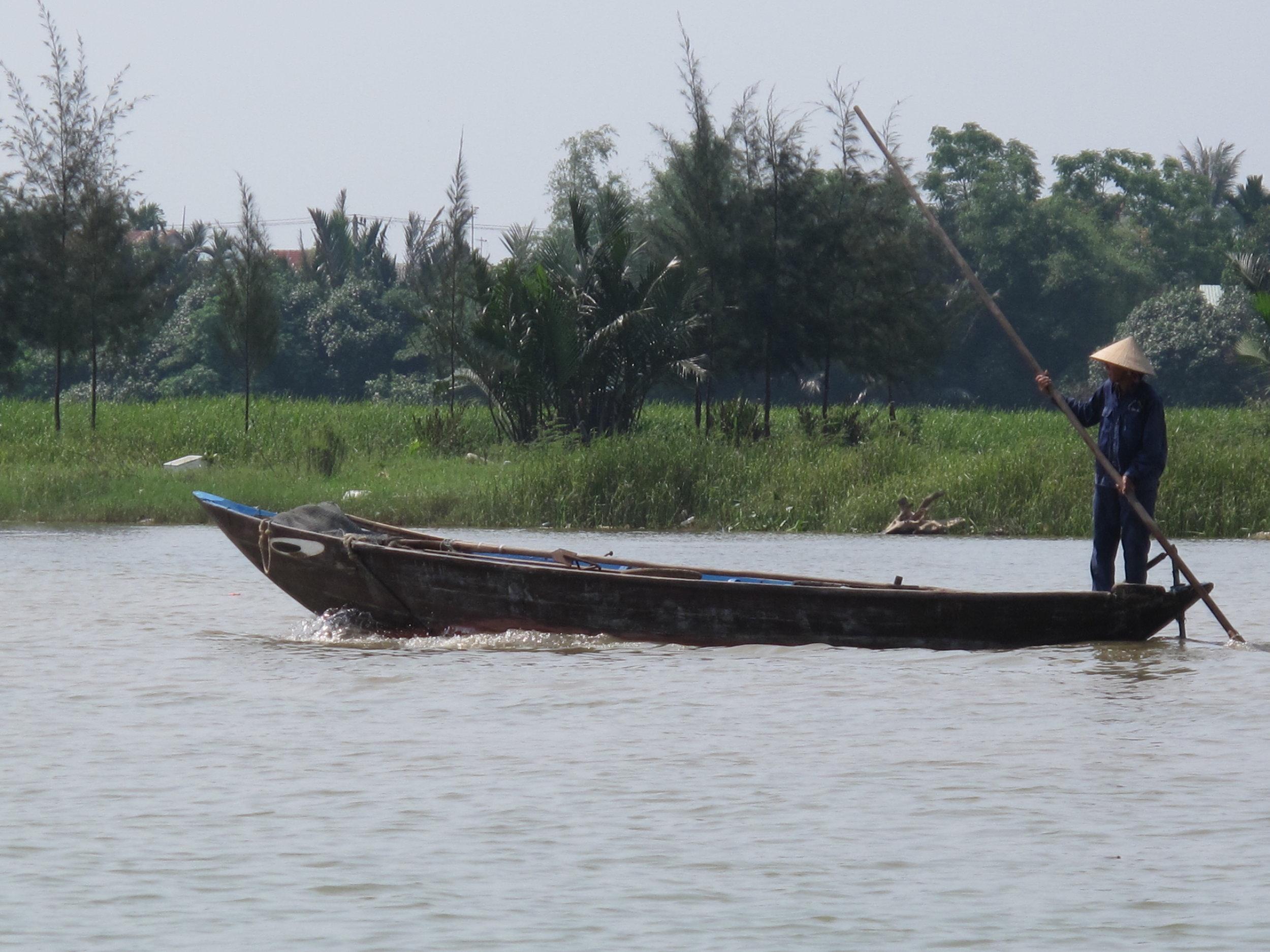 Local fisherman, Hoi An