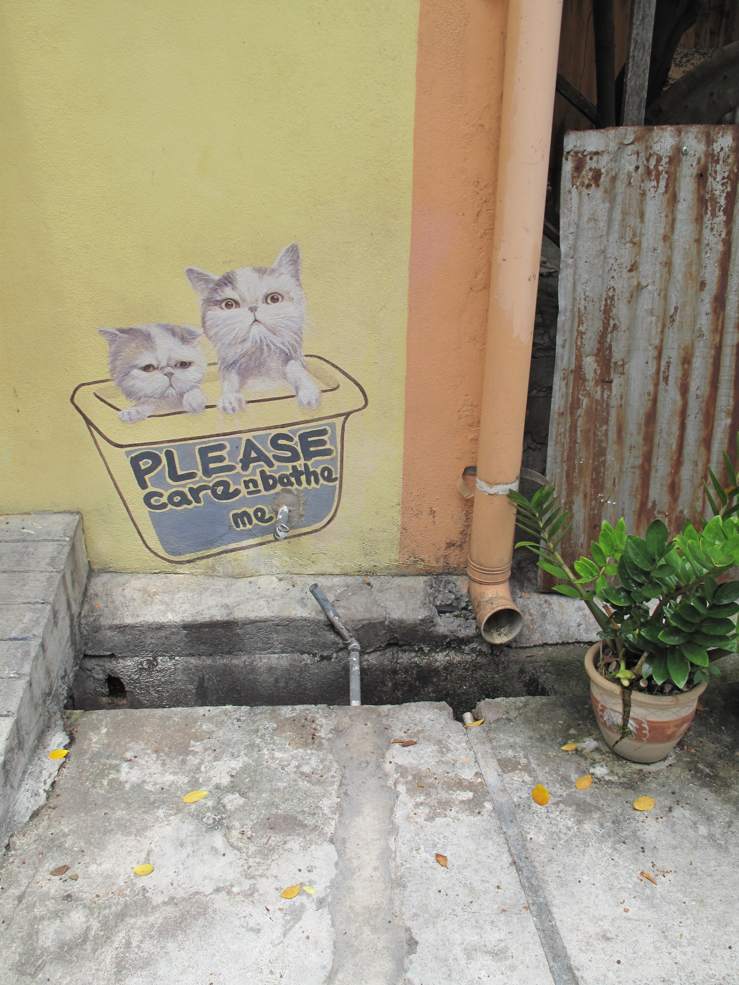 Street Art,Georgetown, Penang, Malaysia
