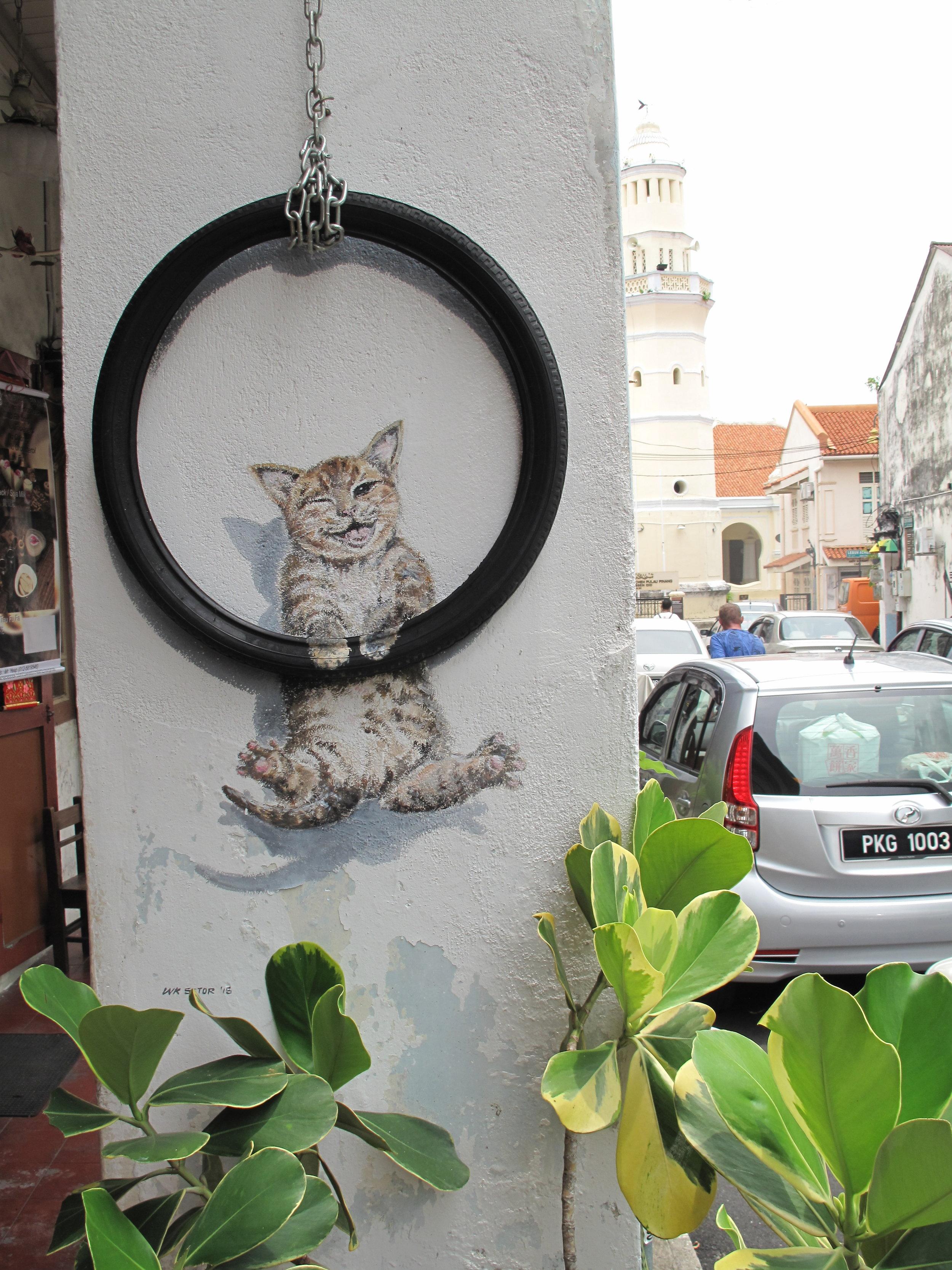 Street Art, Georgetown, Penang, Malaysia