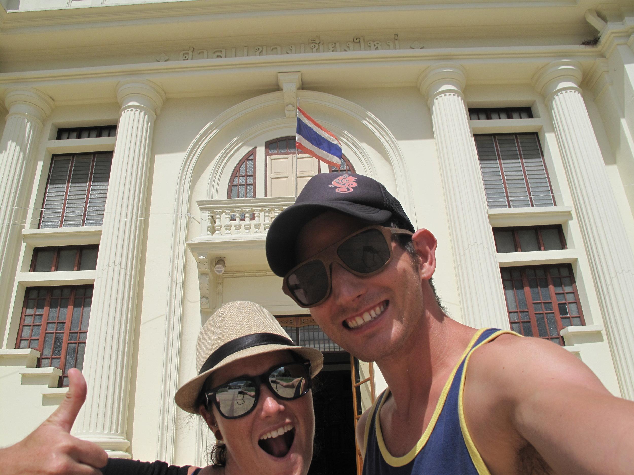 Museum selfie!