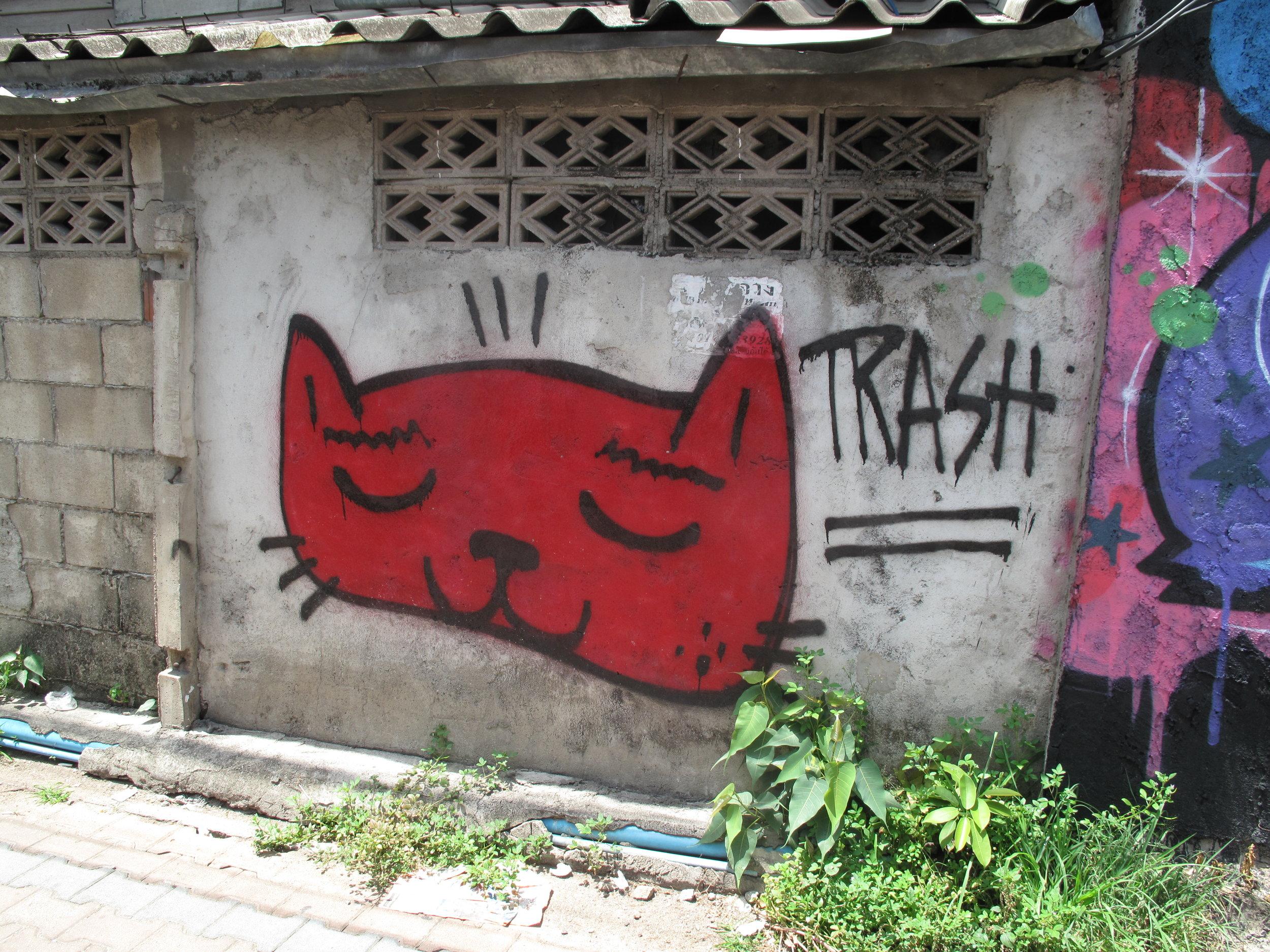 Street art, Chiang Mai, Thailand